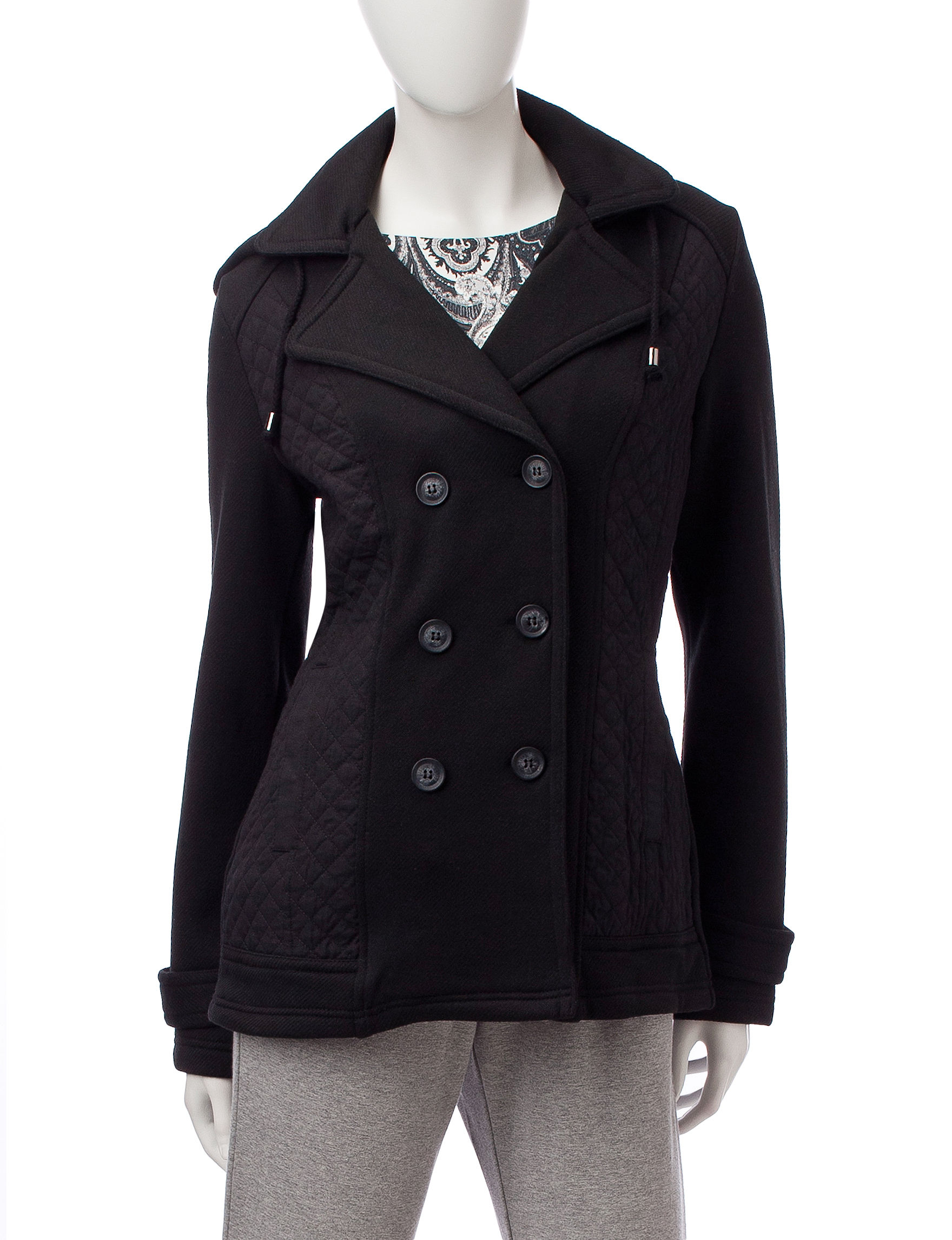 Valerie Stevens Black Fleece & Soft Shell Jackets