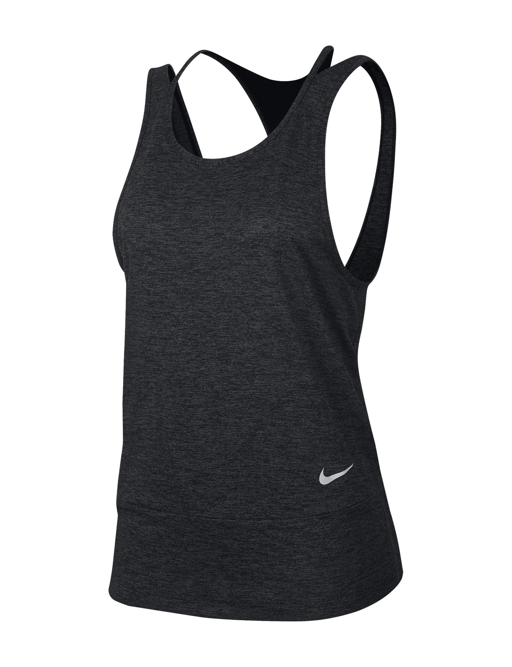 Nike Dark Grey Tees & Tanks