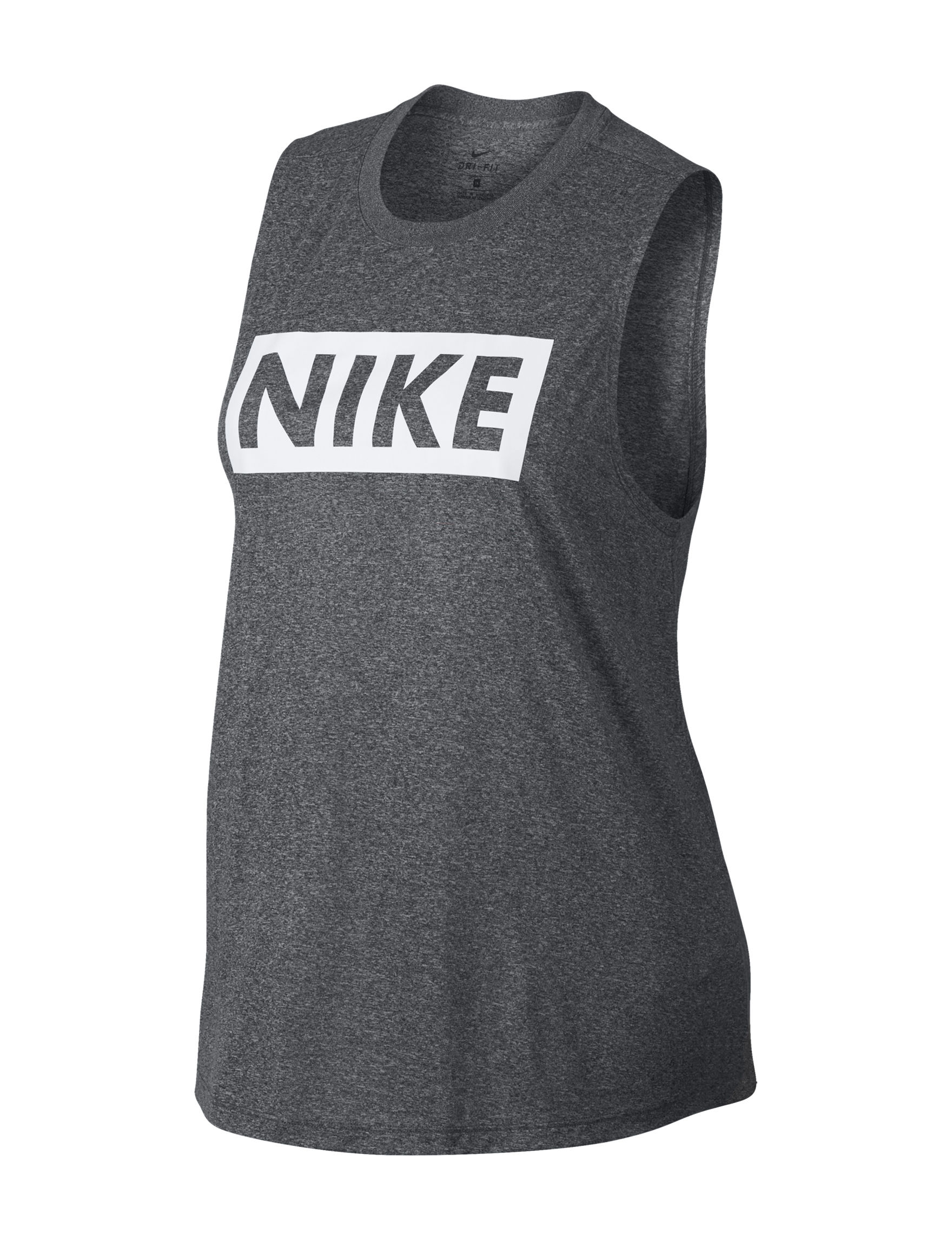 Nike Dark Grey Tees & Tanks