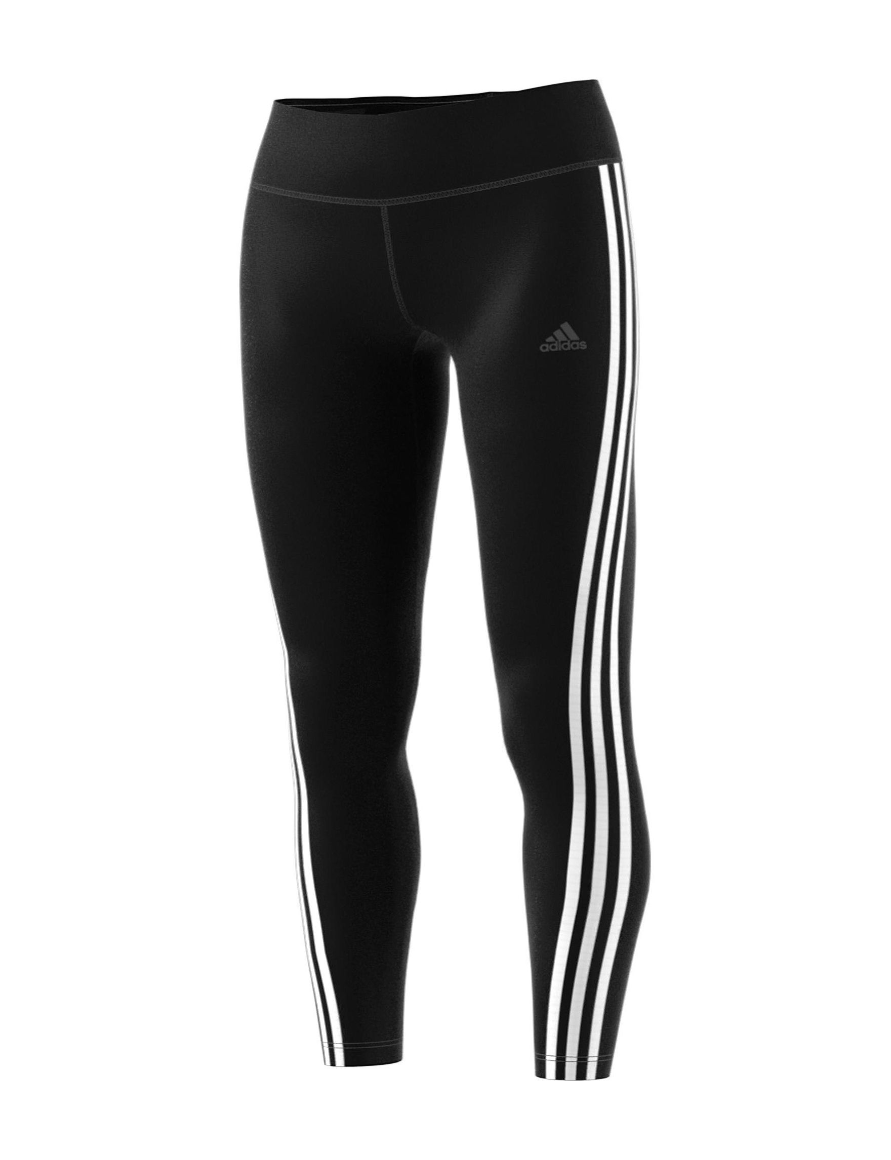 Adidas Black / White Leggings