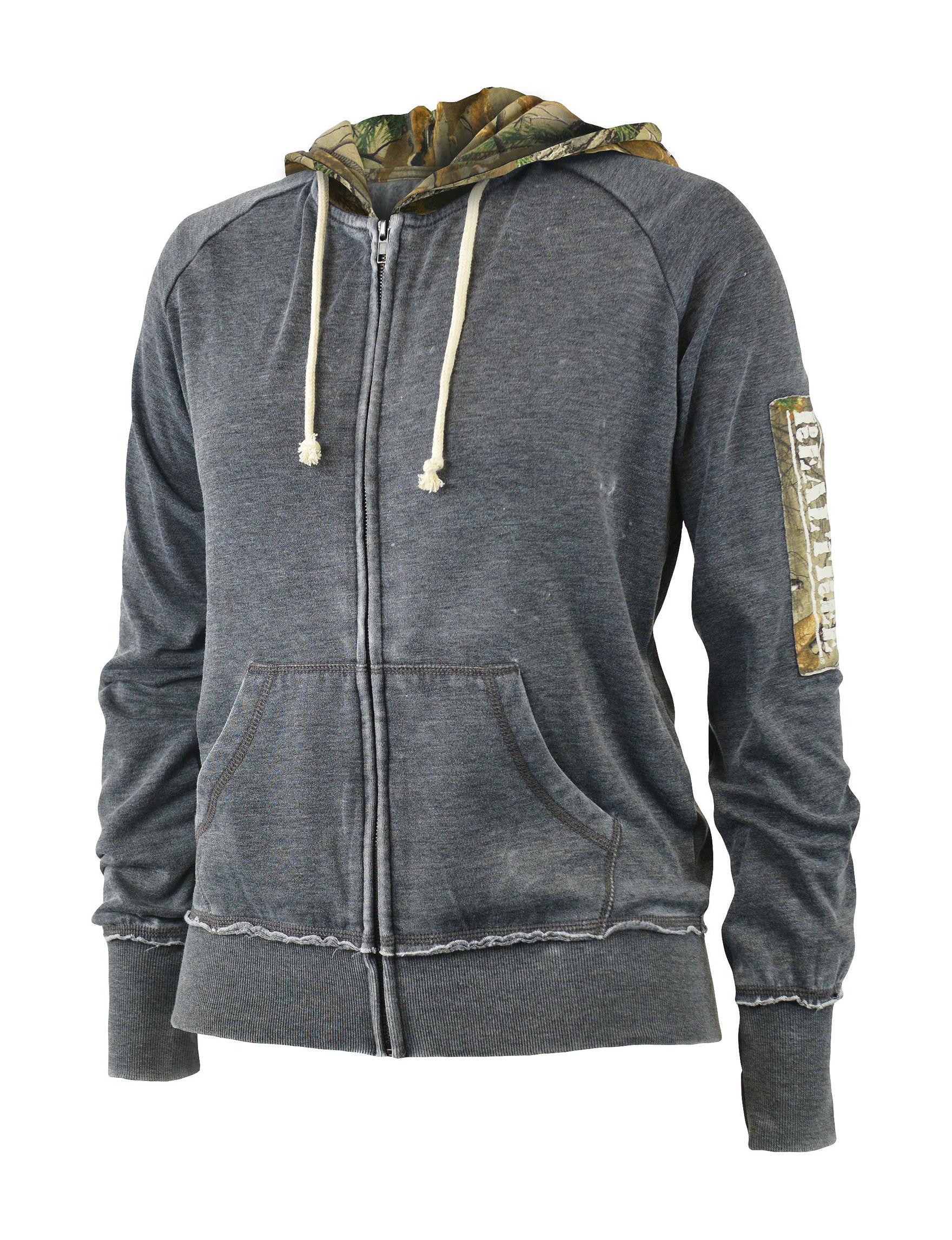 Realtree Black Lightweight Jackets & Blazers