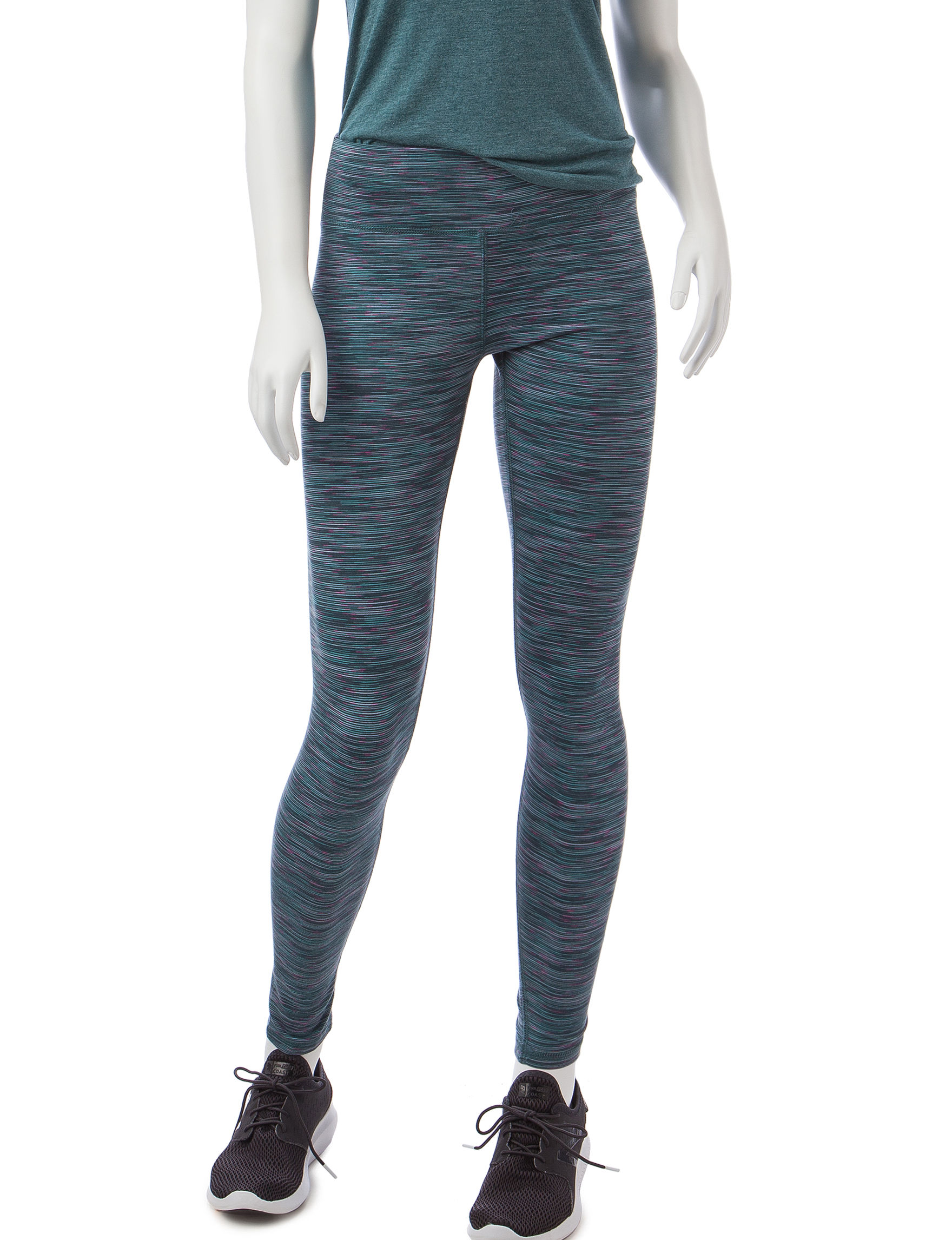 RBX Grey / Blue Leggings