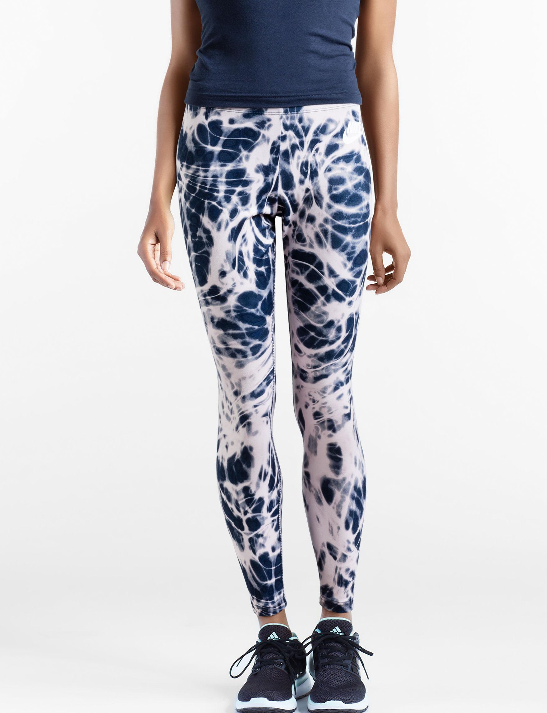 Nike Blue / White Leggings