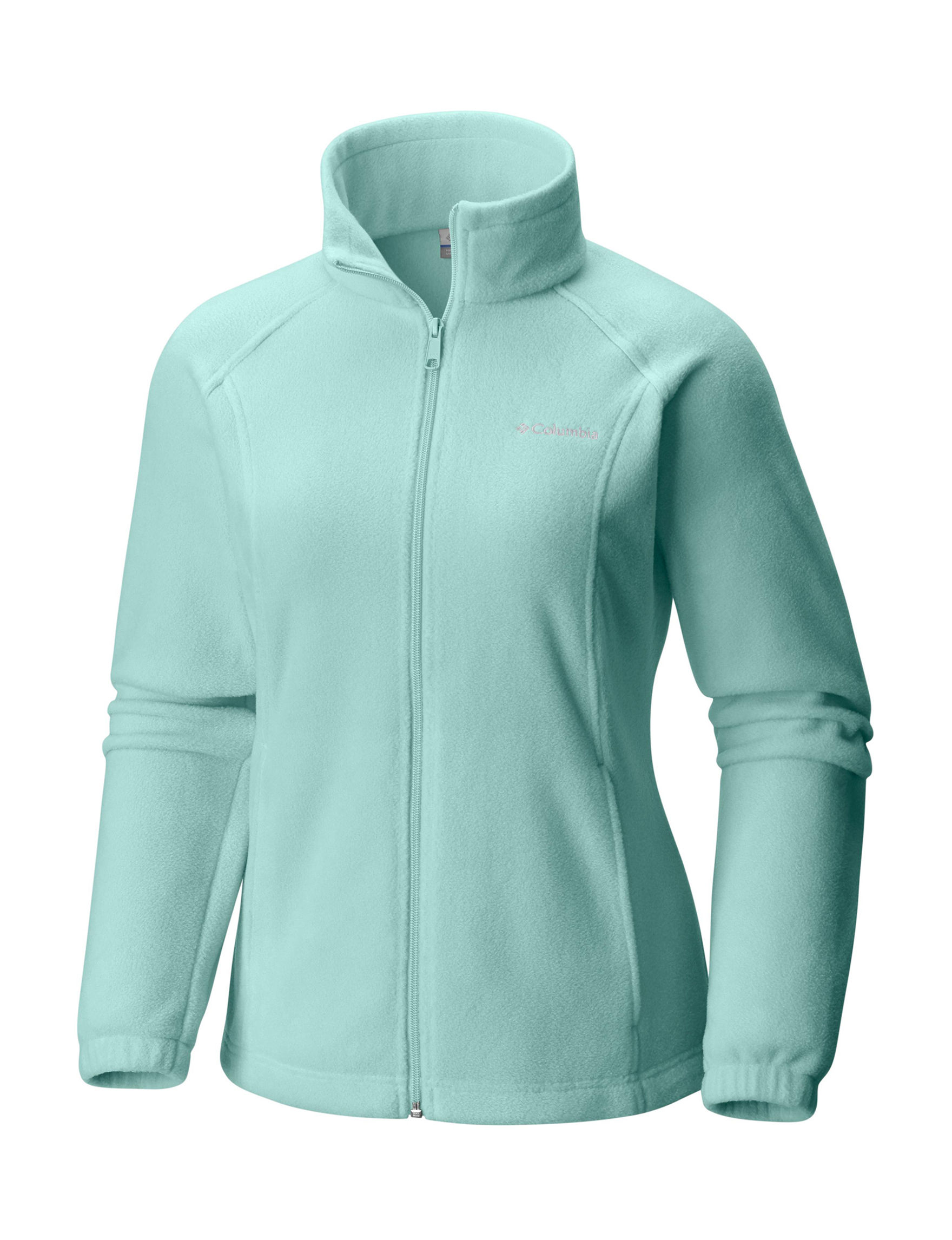 Columbia Seafoam Fleece & Soft Shell Jackets
