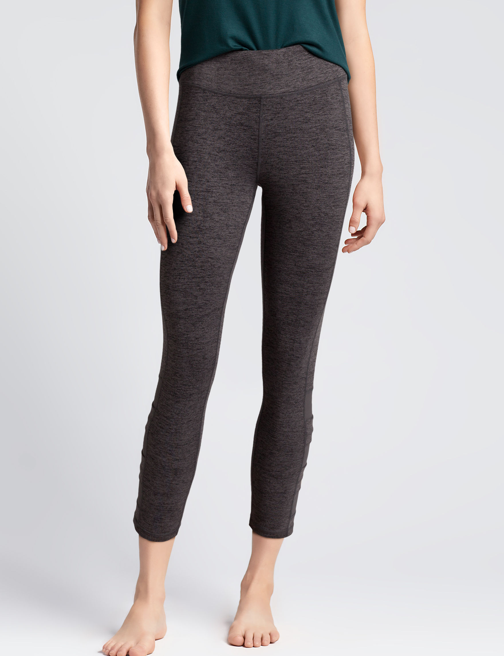 Gaiam Charcoal Leggings Stretch