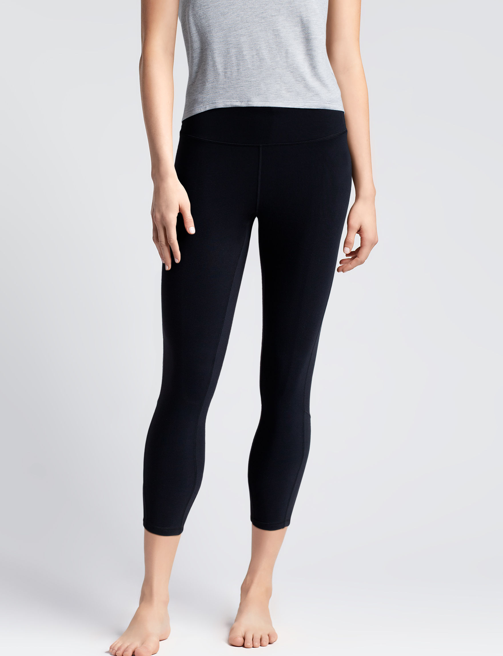 Gaiam Black Leggings Stretch