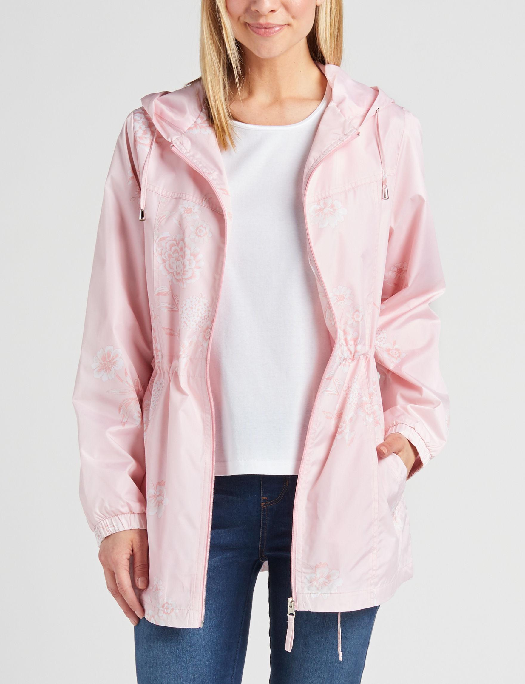 Mackintosh Pastel Pink Rain & Snow Jackets