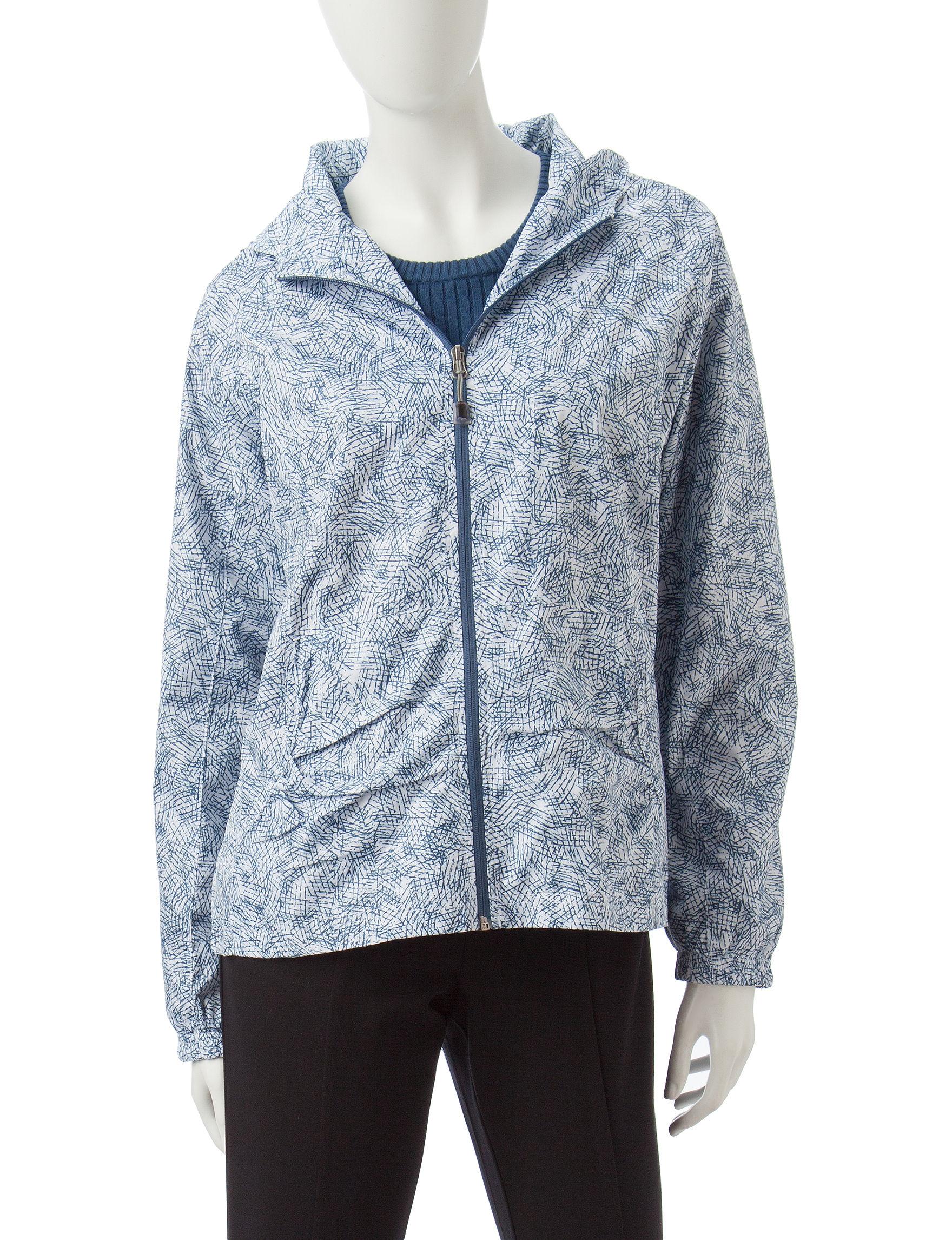Hannah Navy Rain & Snow Jackets
