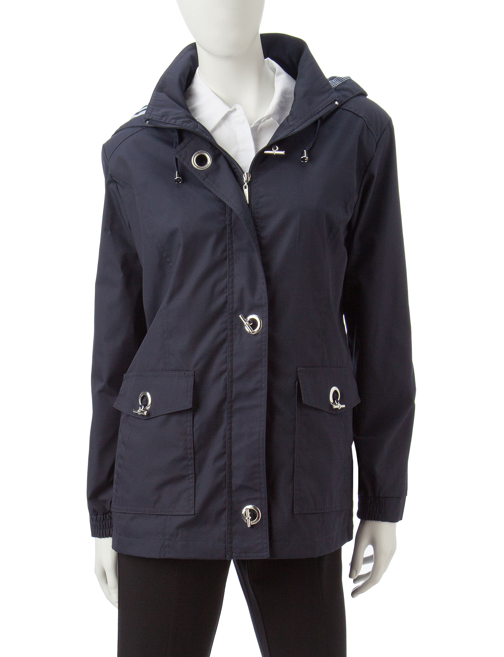 Mackintosh Navy Lightweight Jackets & Blazers Rain & Snow Jackets