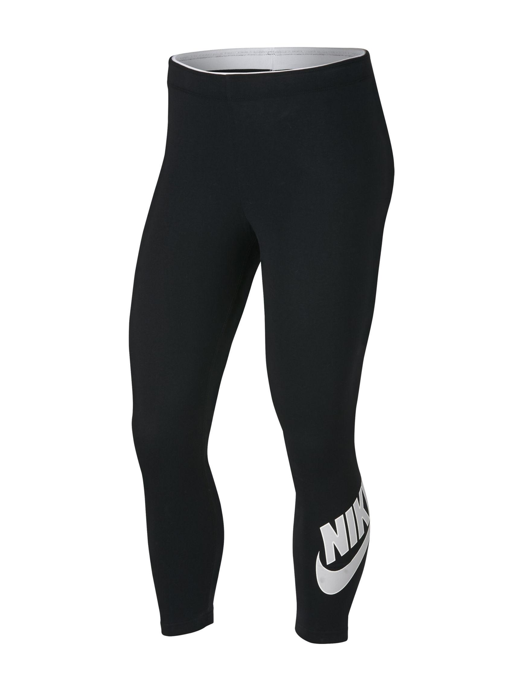 Nike White / Black Leggings