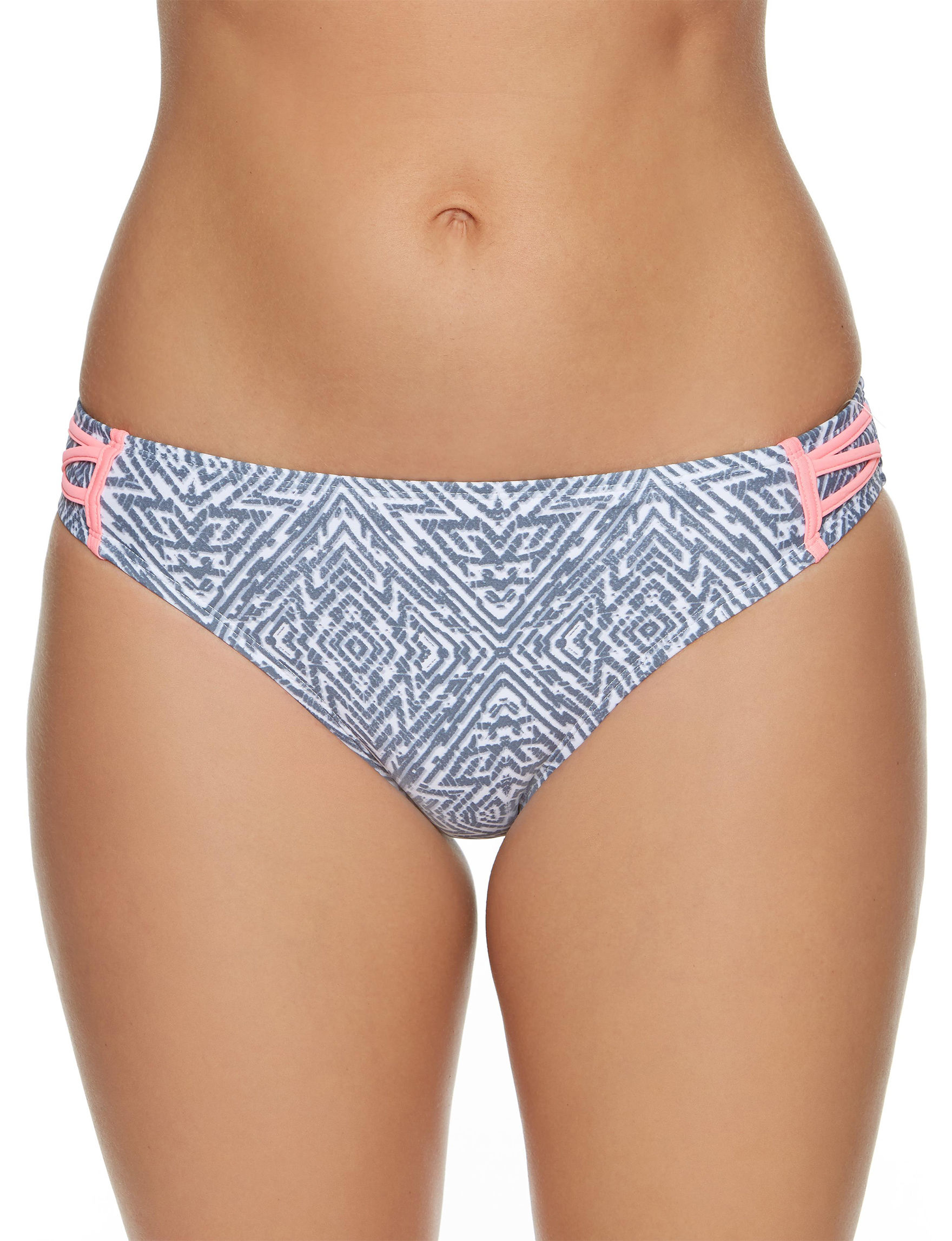 Splashletics Grey Swimsuit Bottoms Hipster
