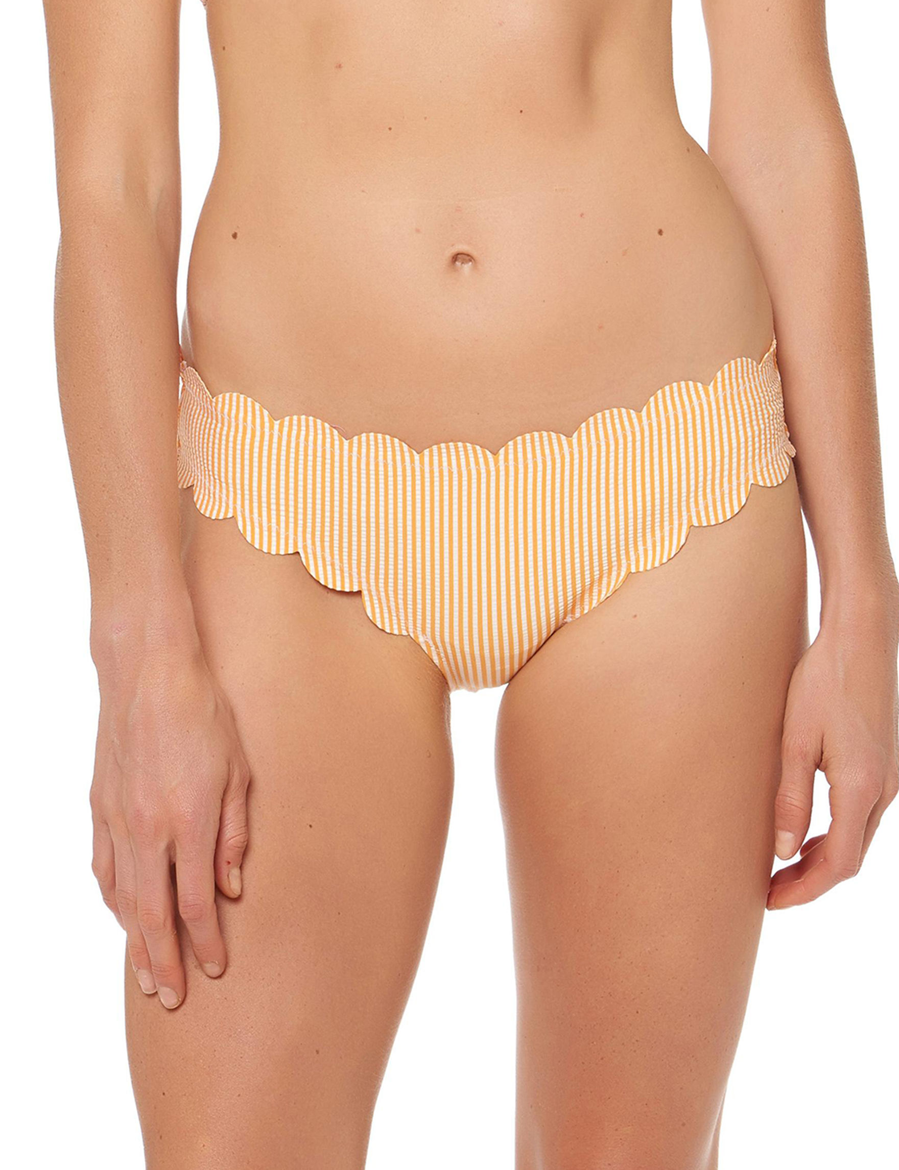 Jessica Simpson Orange Swimsuit Bottoms Hipster