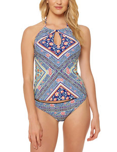 Jessica Simpson Multi Swimsuit Tops Tankini