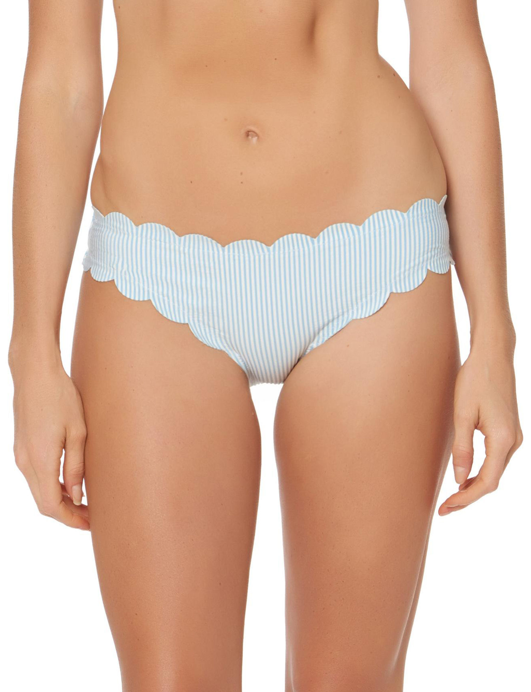 Jessica Simpson Blue Swimsuit Bottoms Hipster
