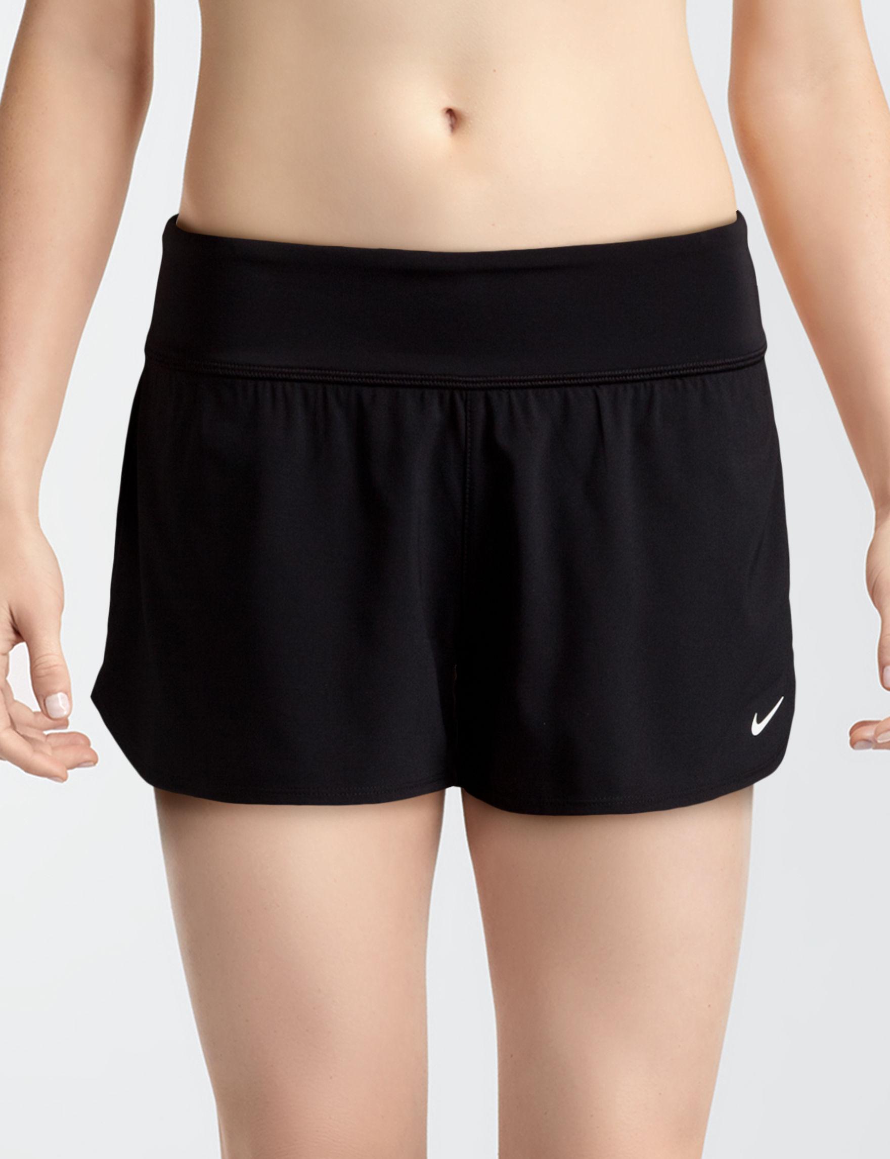 Nike Black Swimsuit Bottoms Boyshort