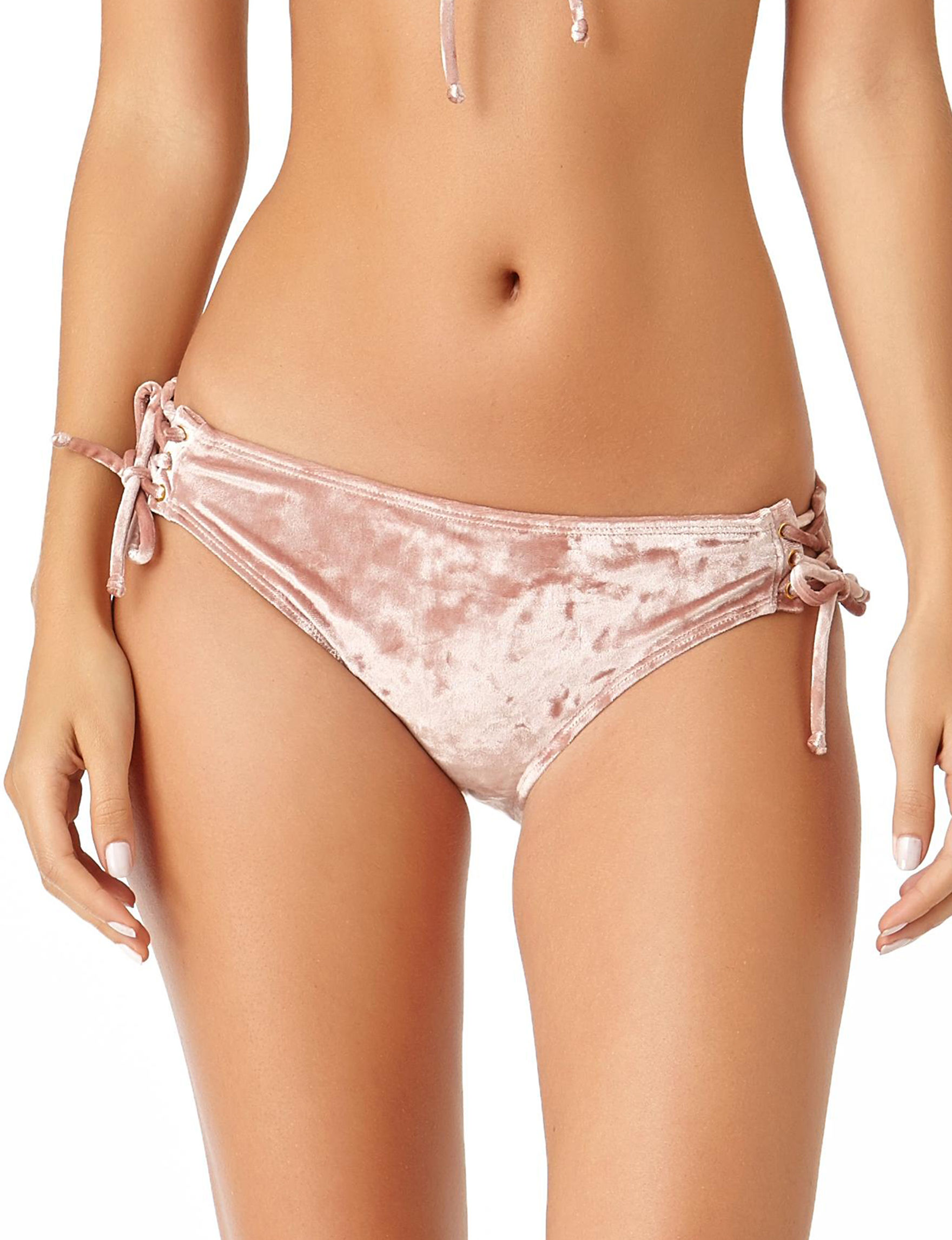 California Sunshine Pink Swimsuit Bottoms Hipster