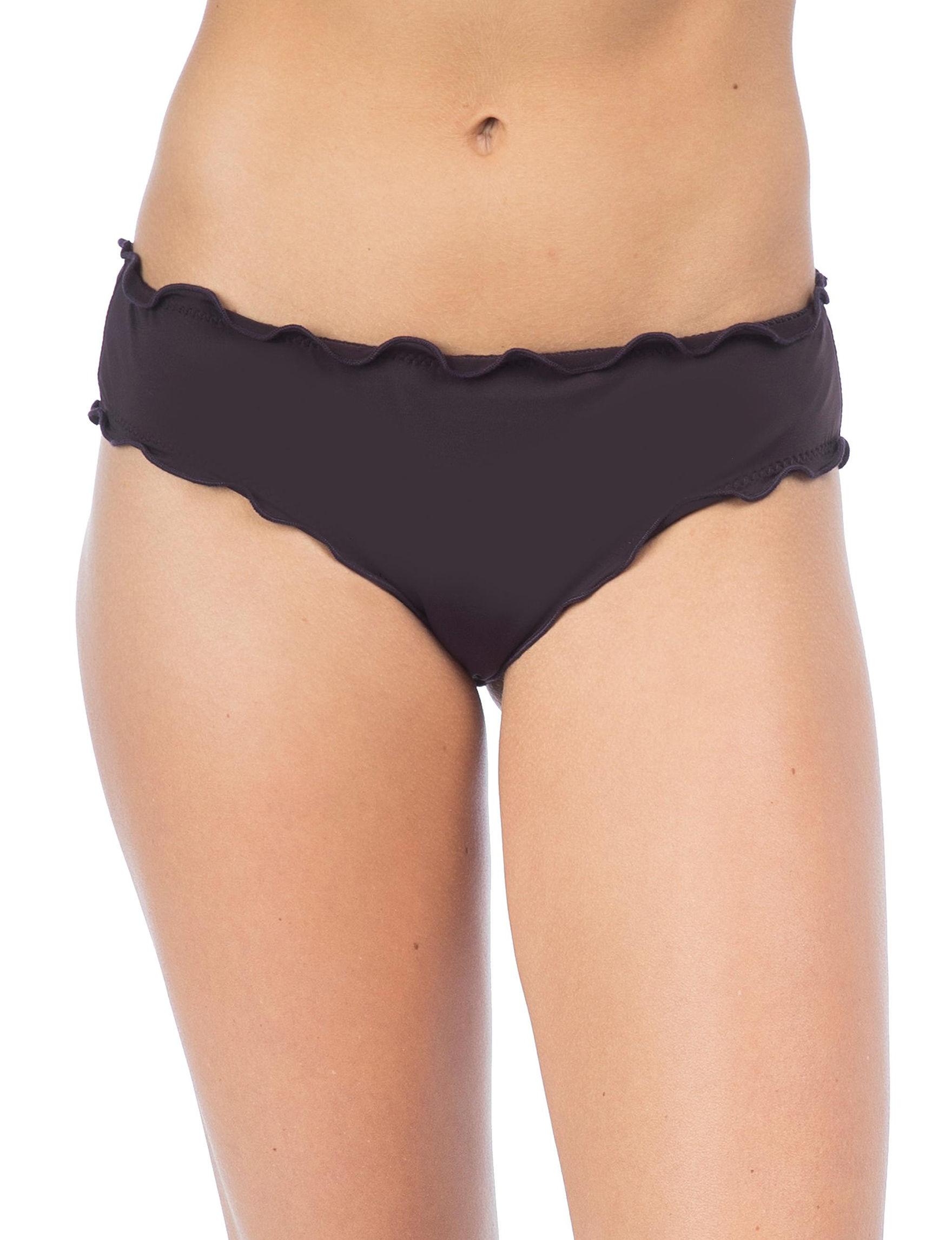 Hobie Black Swimsuit Bottoms Hipster