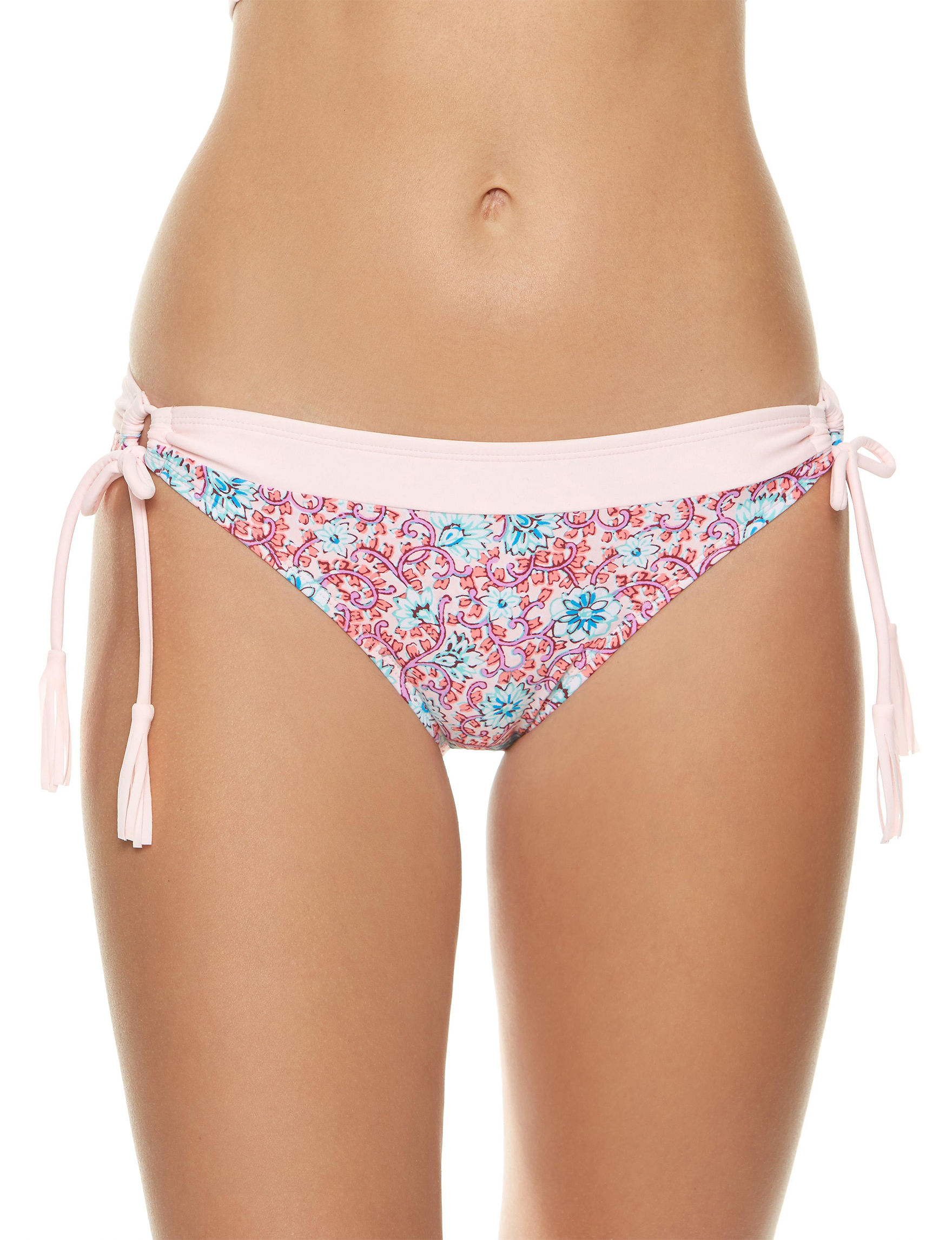 Polka Dot Pink Swimsuit Bottoms Hipster