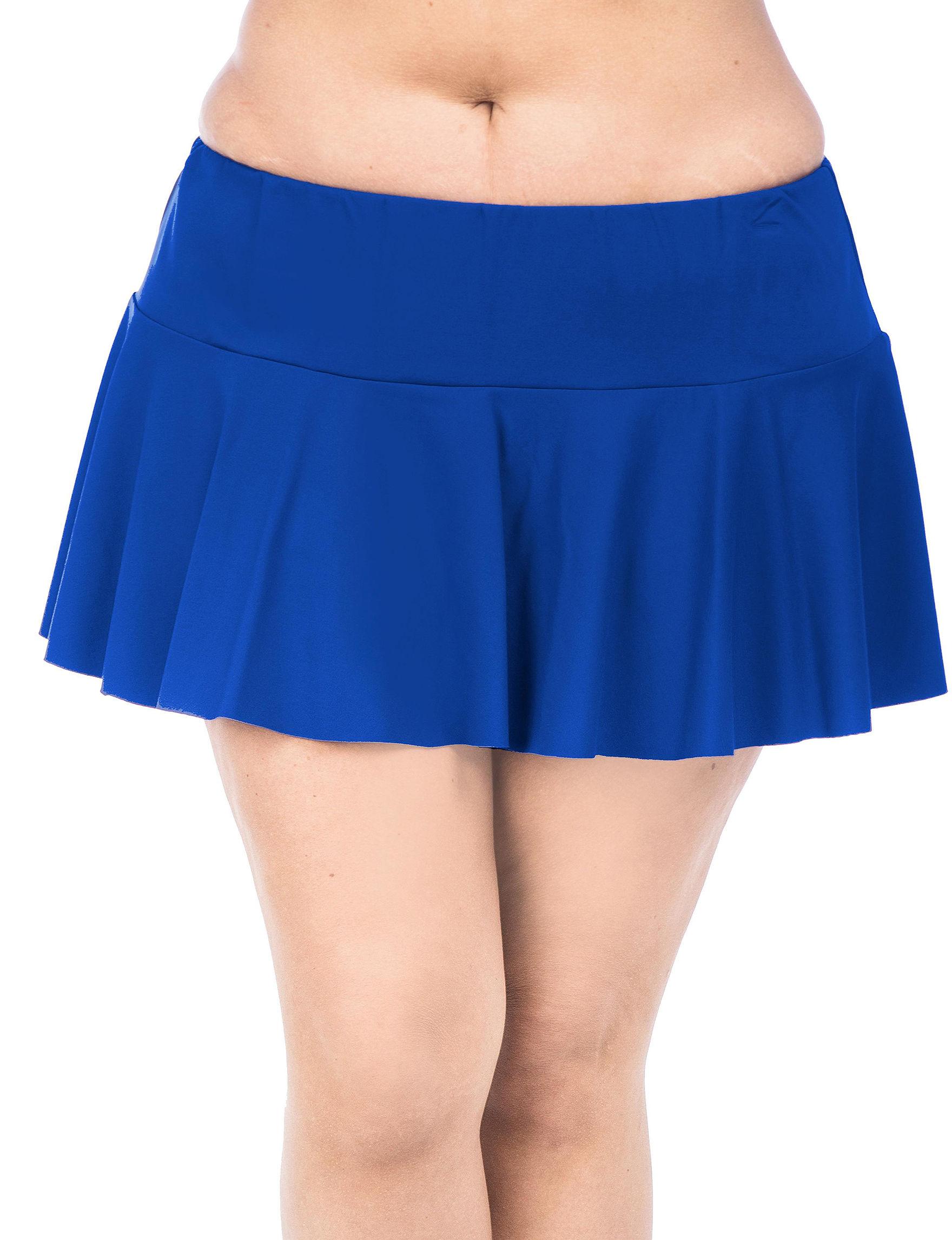 Chaps Royal Blue Swimsuit Bottoms Skirtini