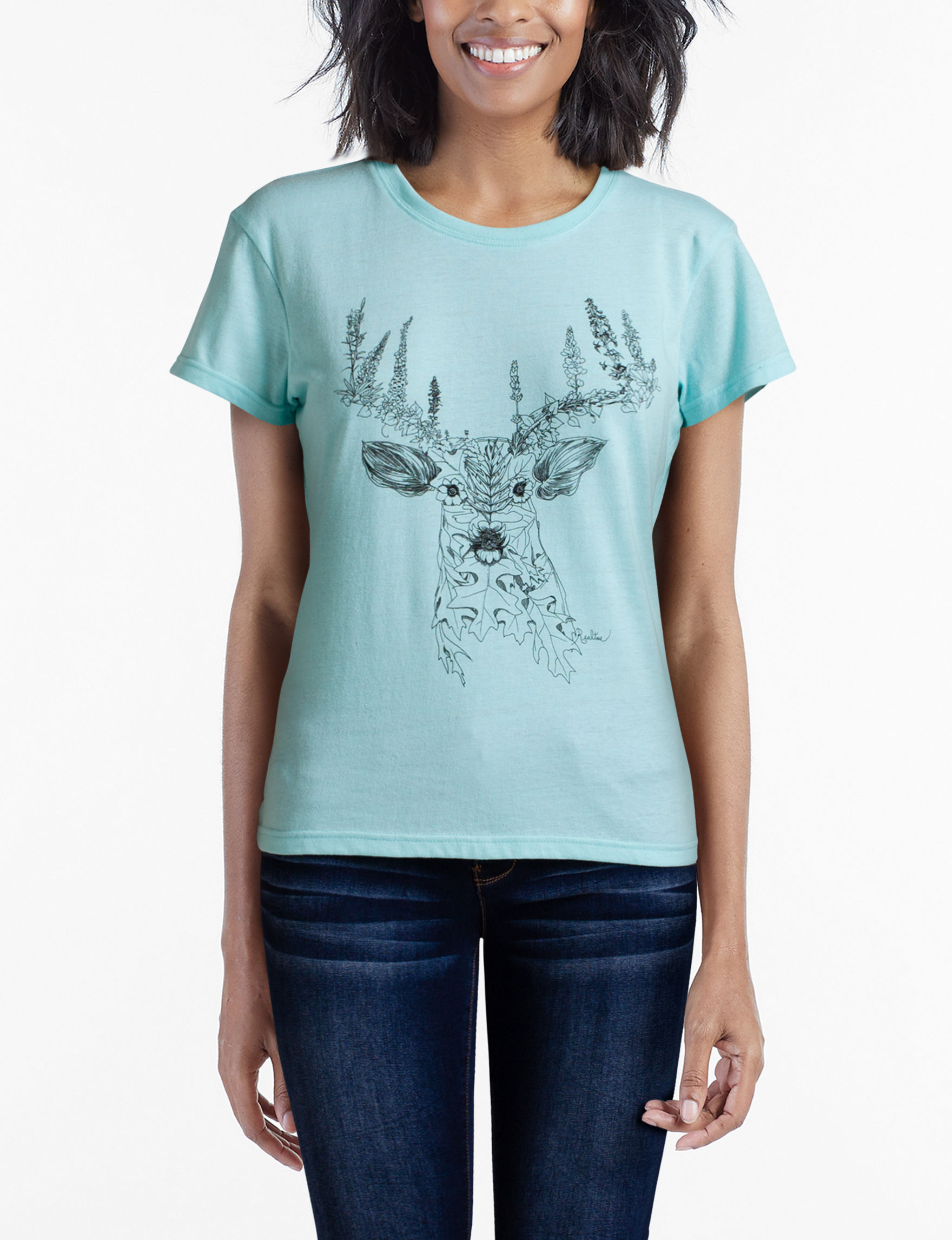 Realtree Aqua Tees & Tanks