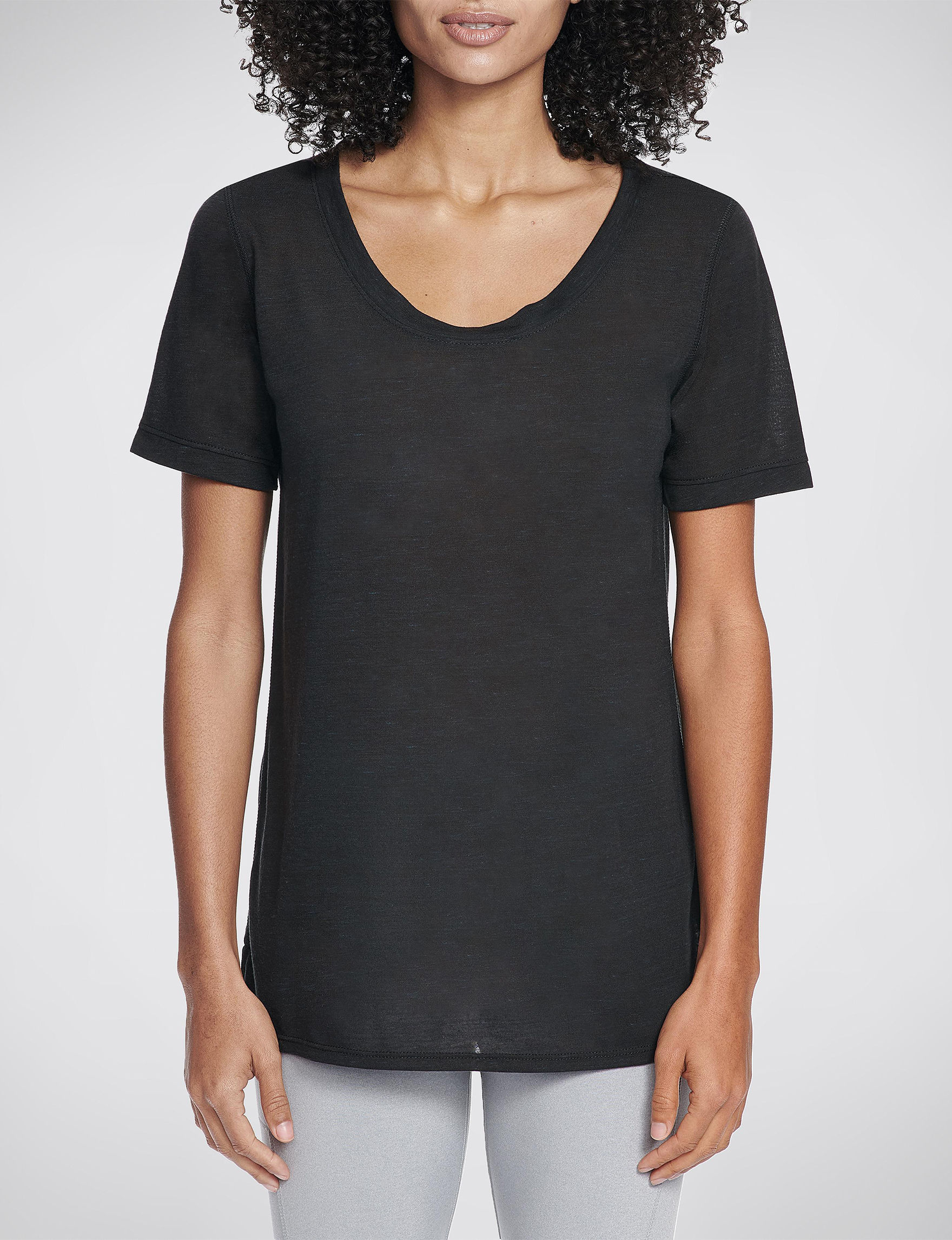 Skechers Black Tees & Tanks