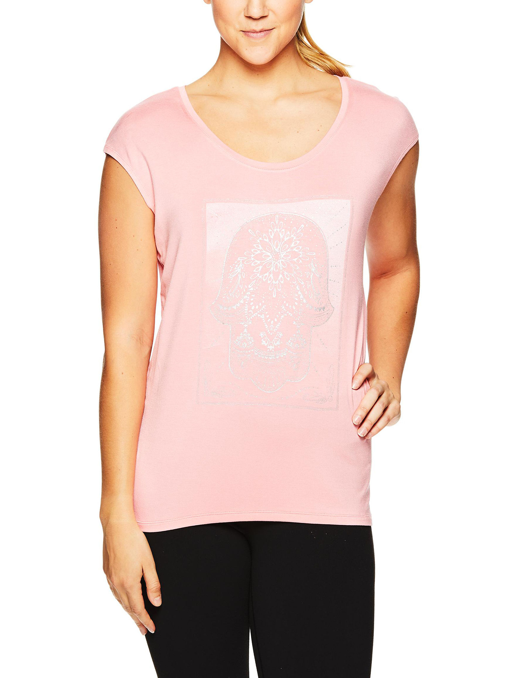 Gaiam Pink Tees & Tanks