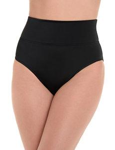 Trimshaper Black Swimsuit Bottoms