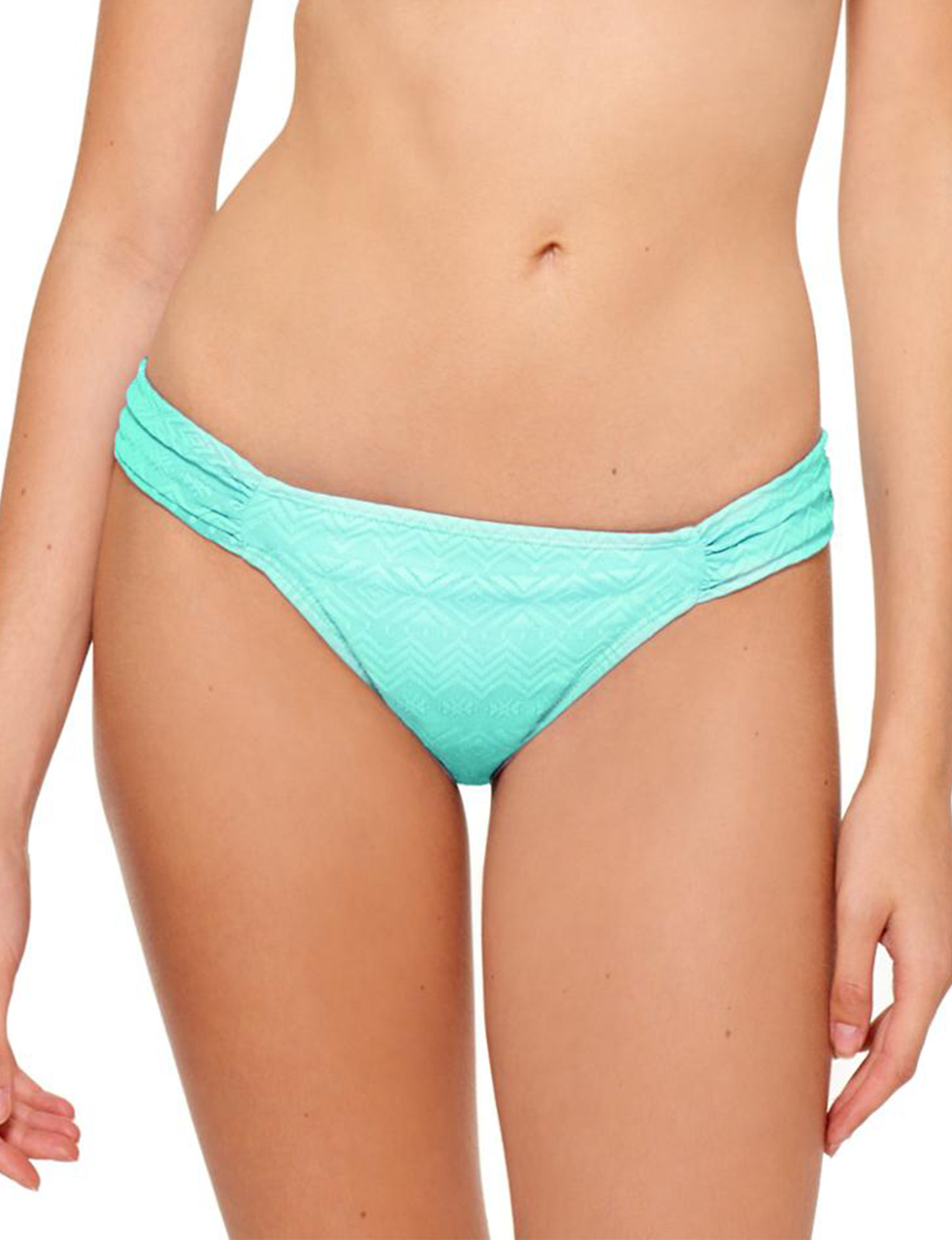 Hot Water Mint Swimsuit Bottoms Hipster