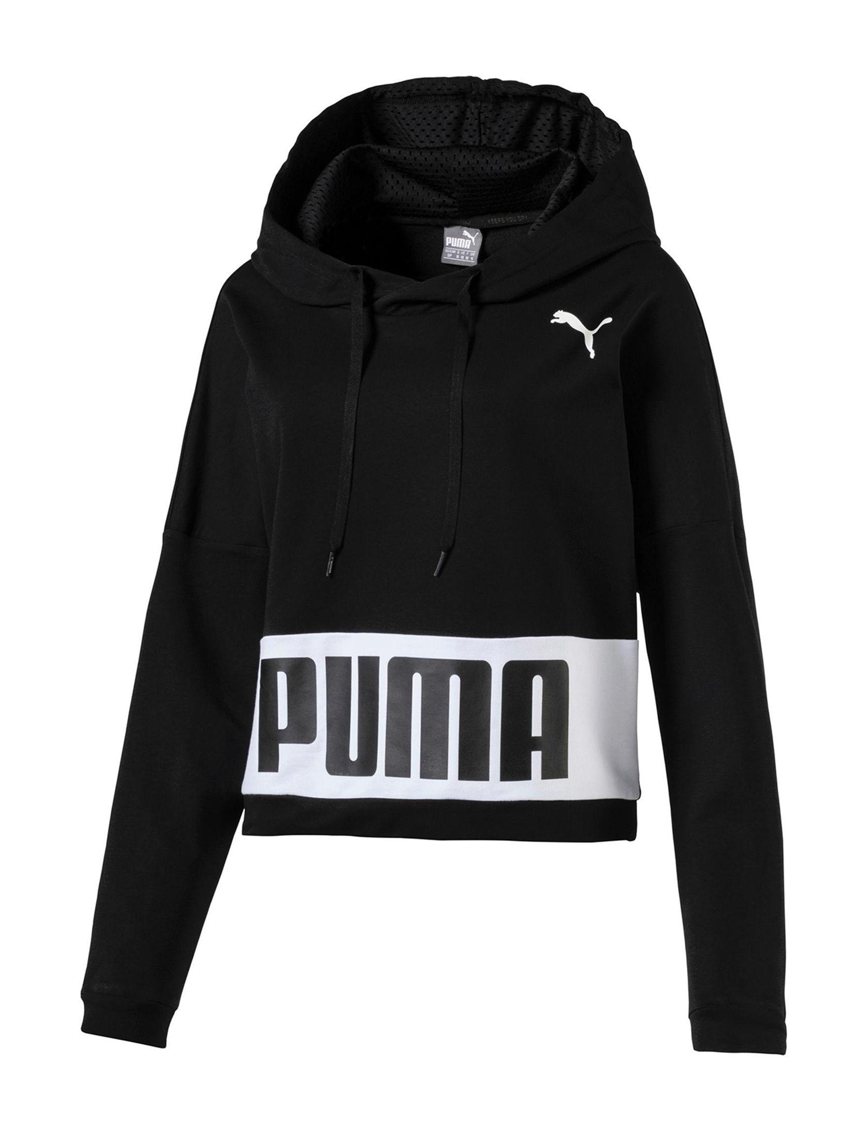 Puma Black Pull-overs