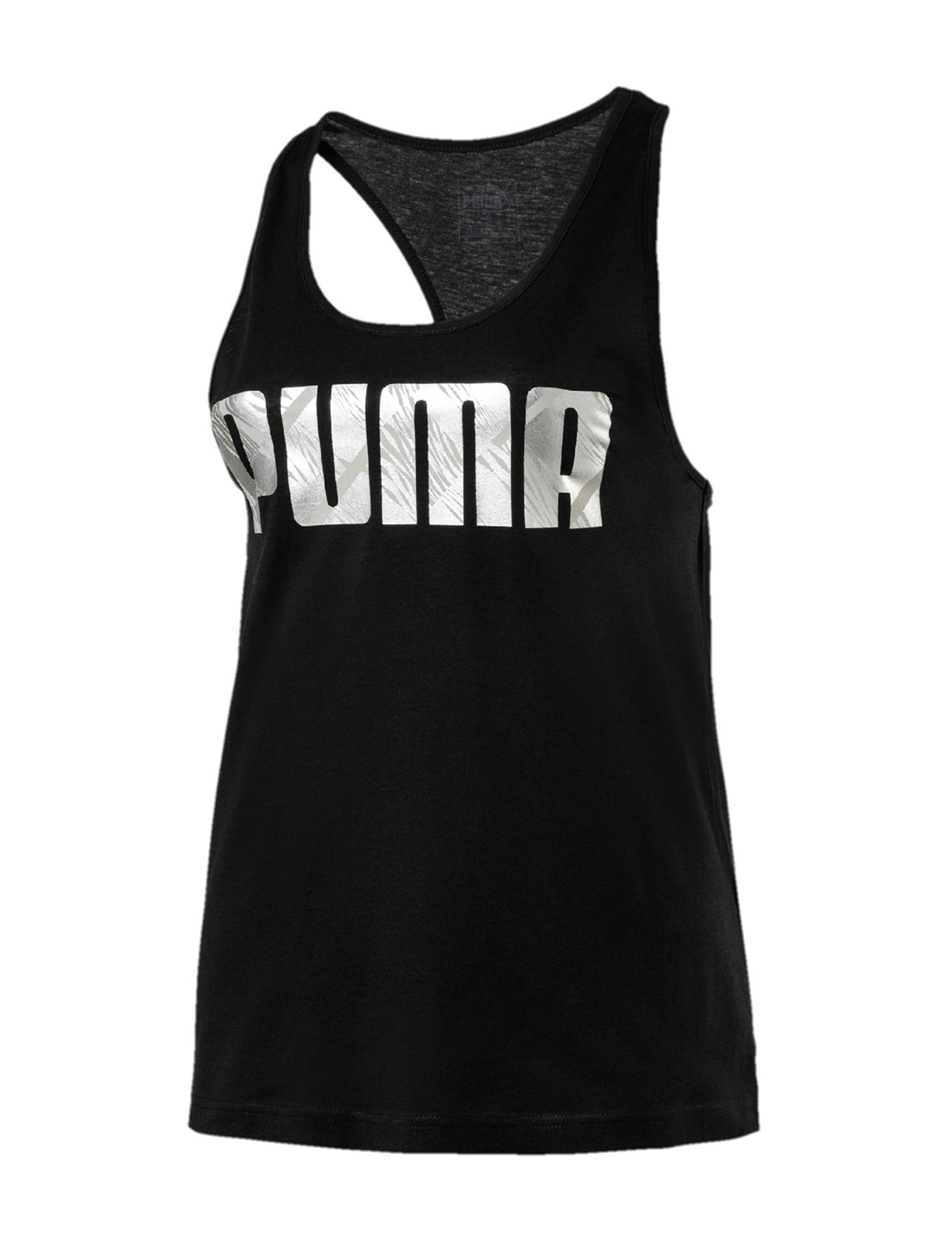 Puma Black Tees & Tanks