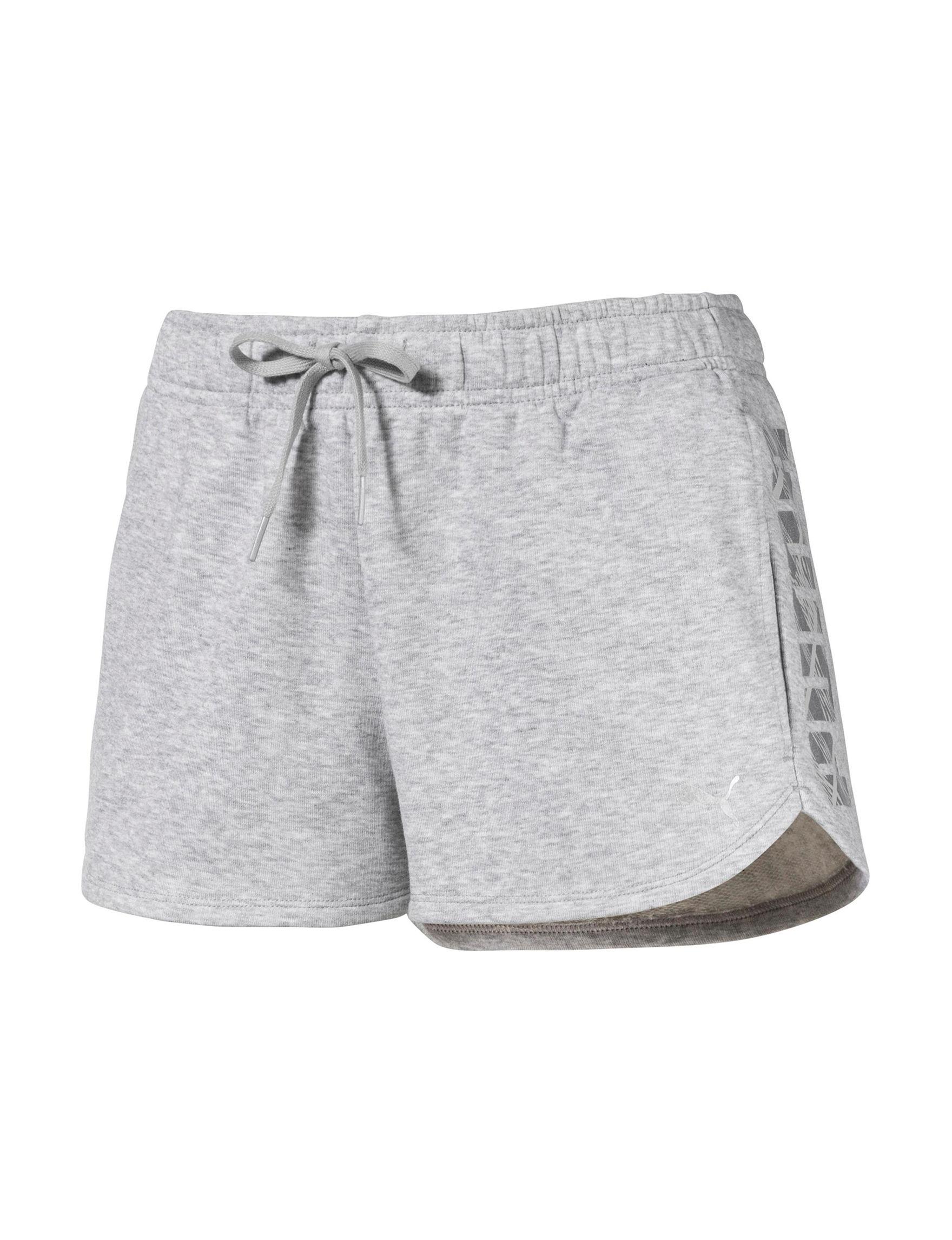 Puma Grey Soft Shorts