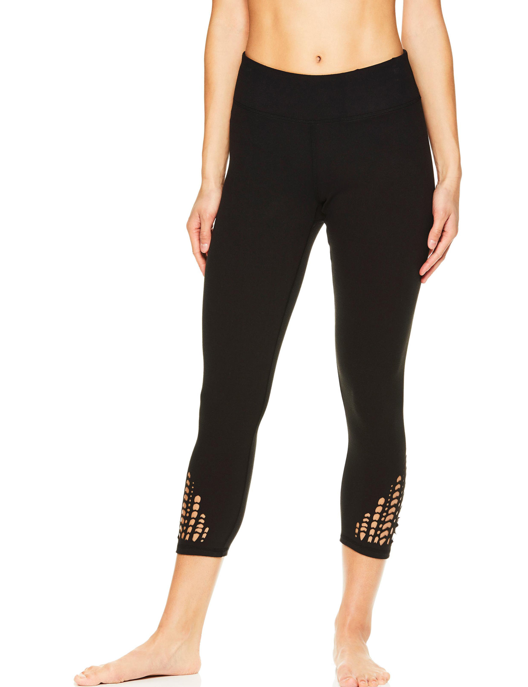 Gaiam Black Capris & Crops Leggings