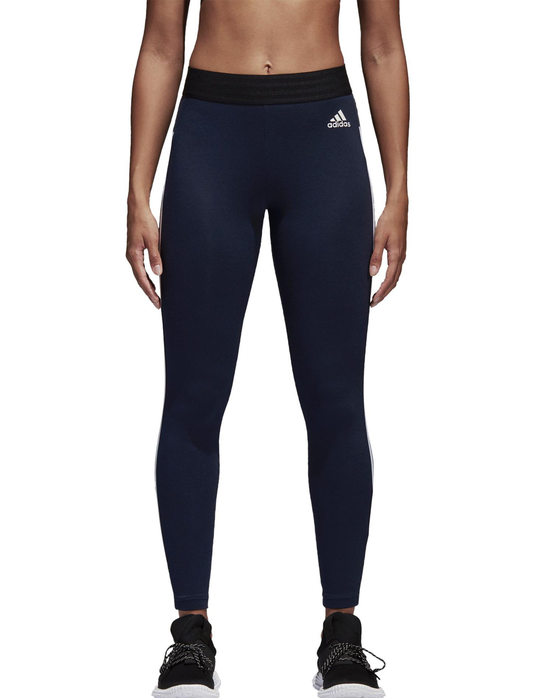 Adidas Navy / White Leggings