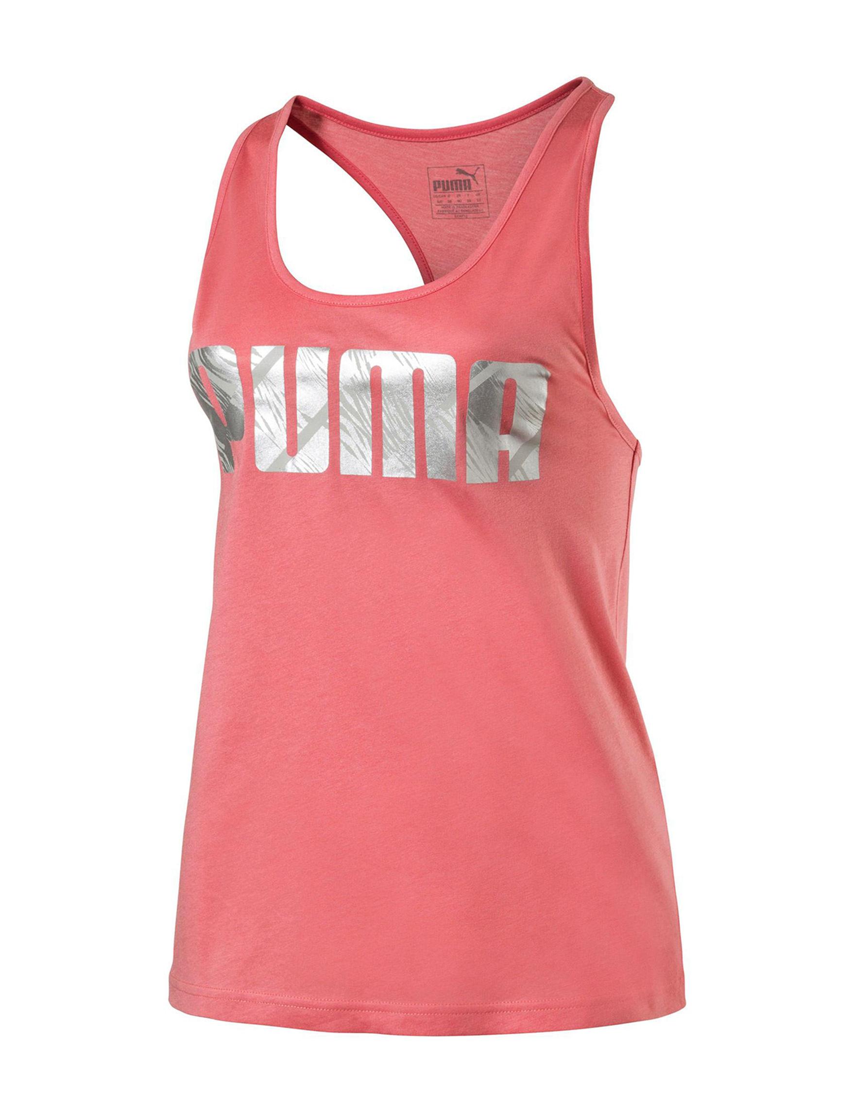 Puma Pink Tees & Tanks