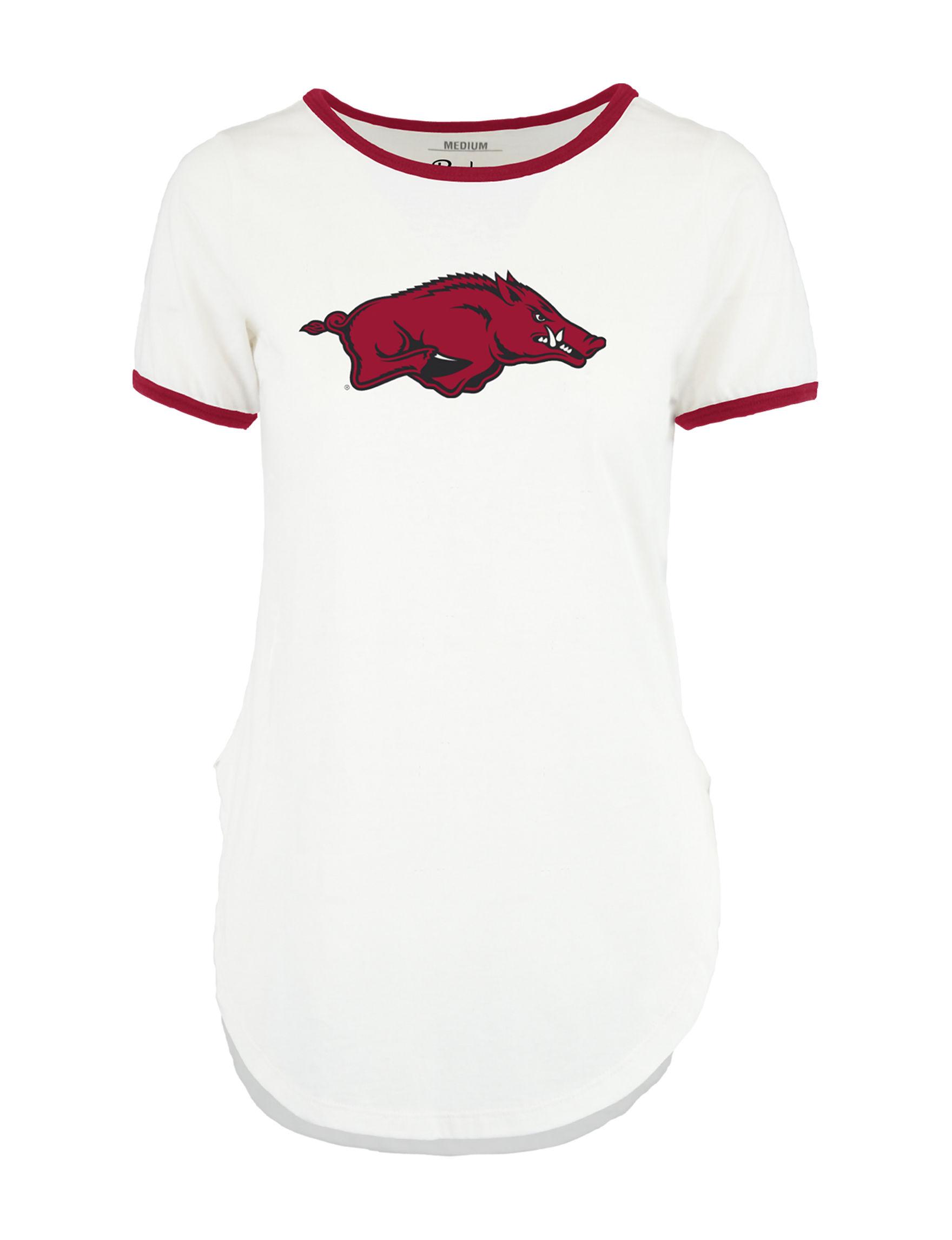 NCAA Red / White Tees & Tanks