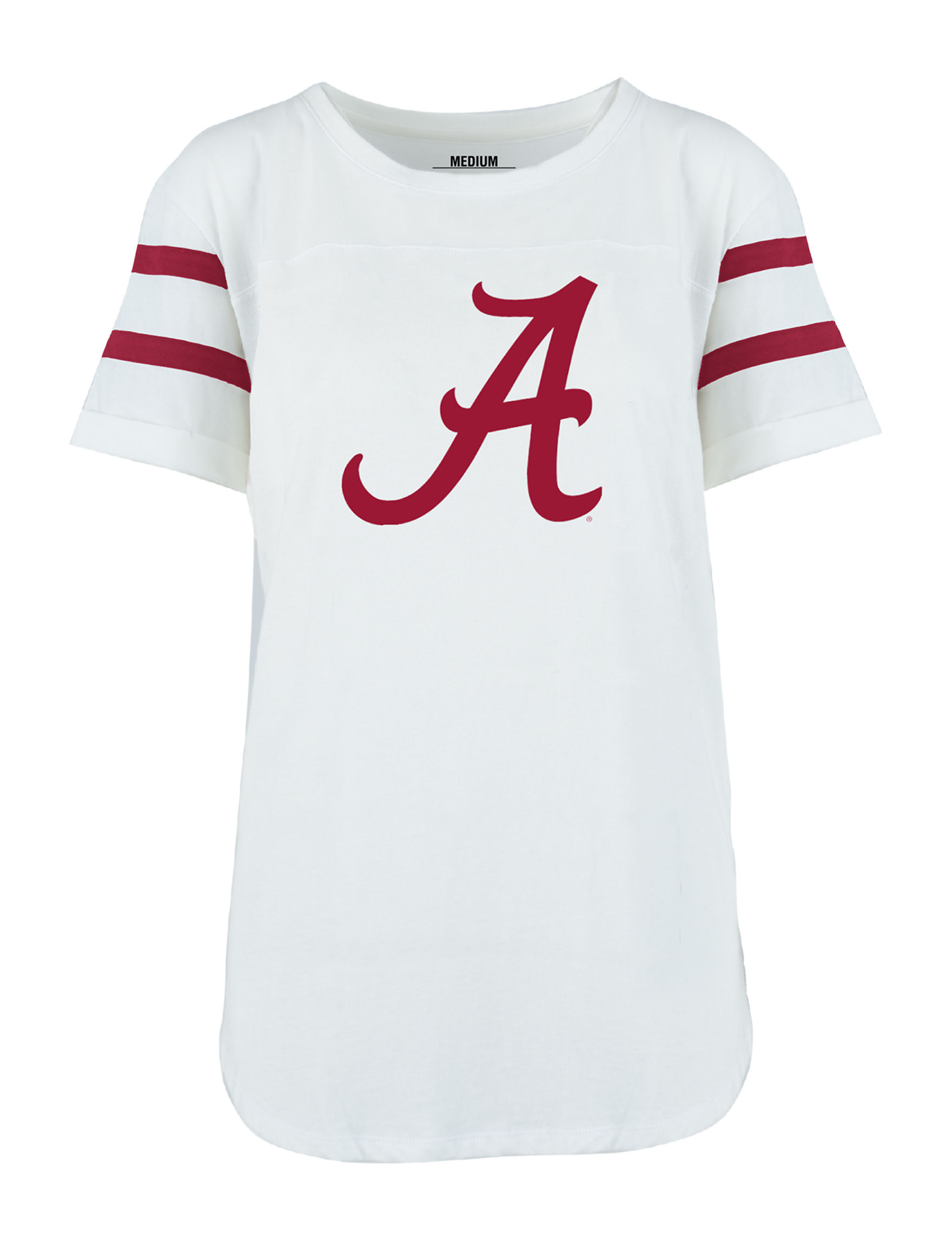 NCAA White / Red Tees & Tanks