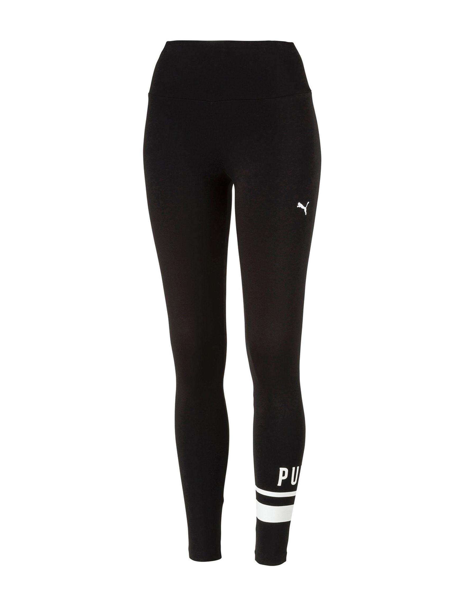 Puma Black /  White Leggings
