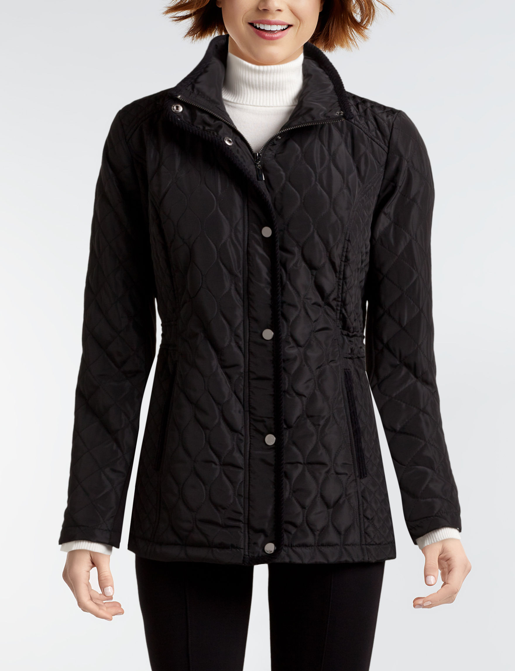 Valerie Stevens Quilted Barn Jacket Stage Stores