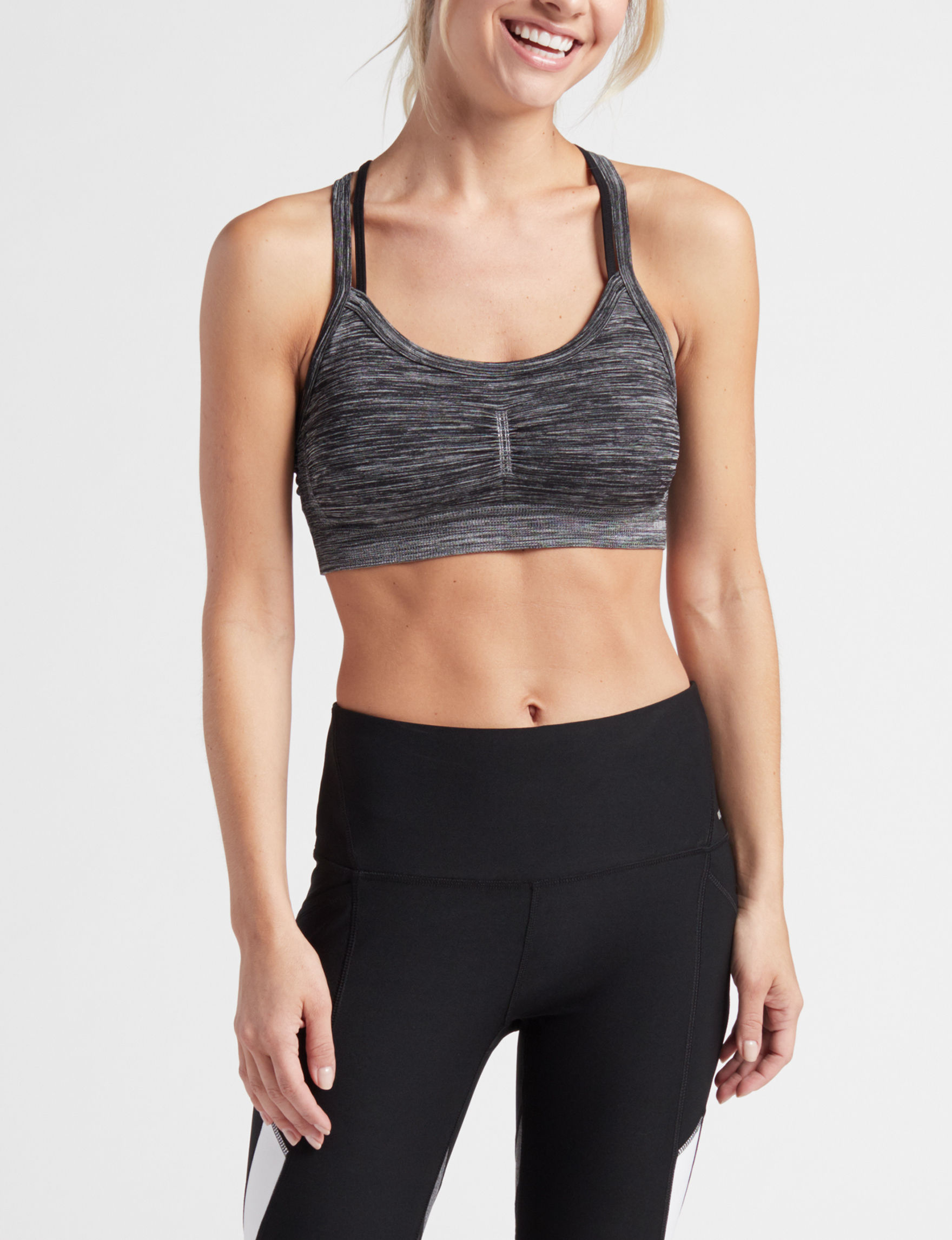 RBX Black Bras Sports Bra