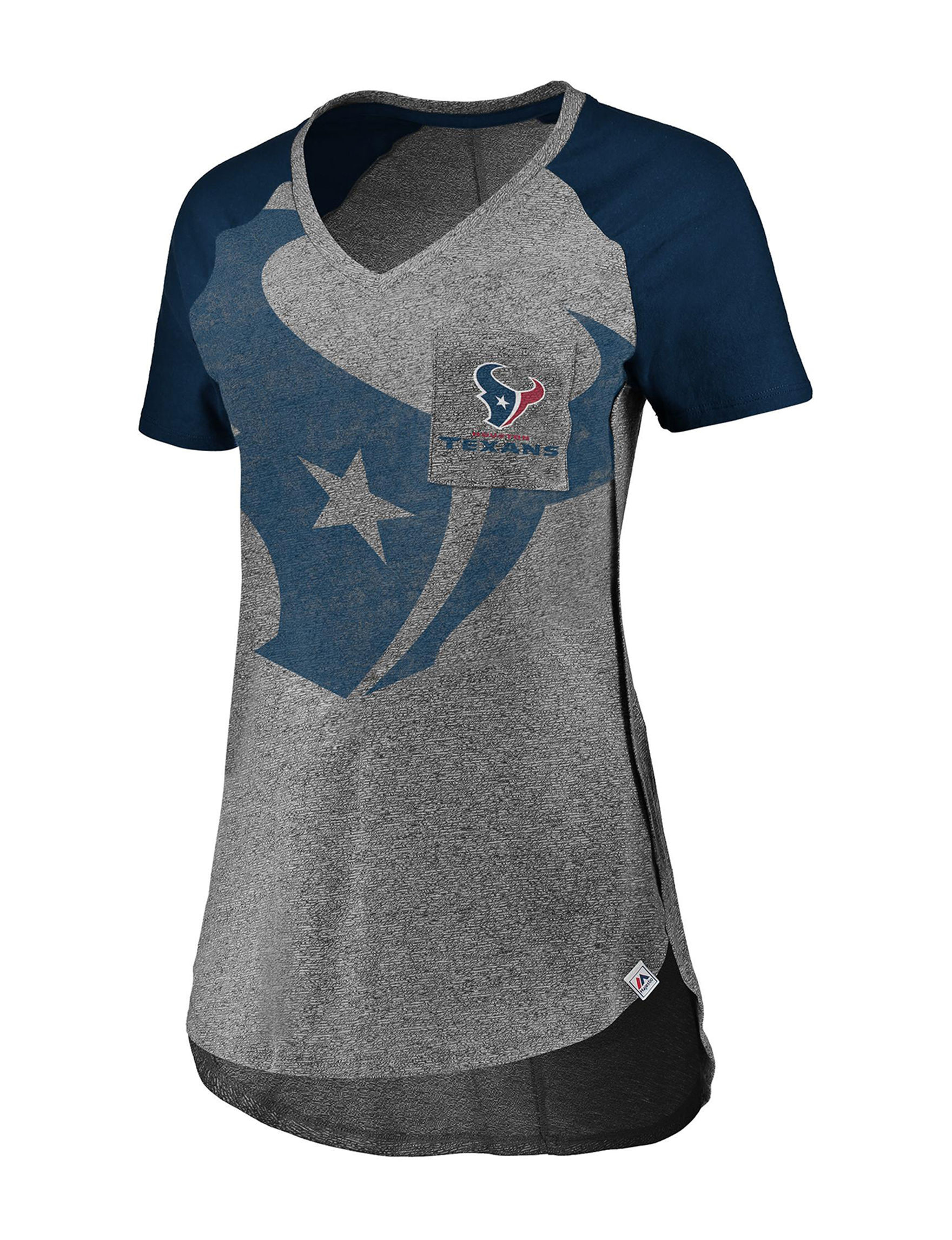 huge discount 2ad7c e3621 Houston Texans Women's Static Pocket Logo T-shirt | Stage Stores