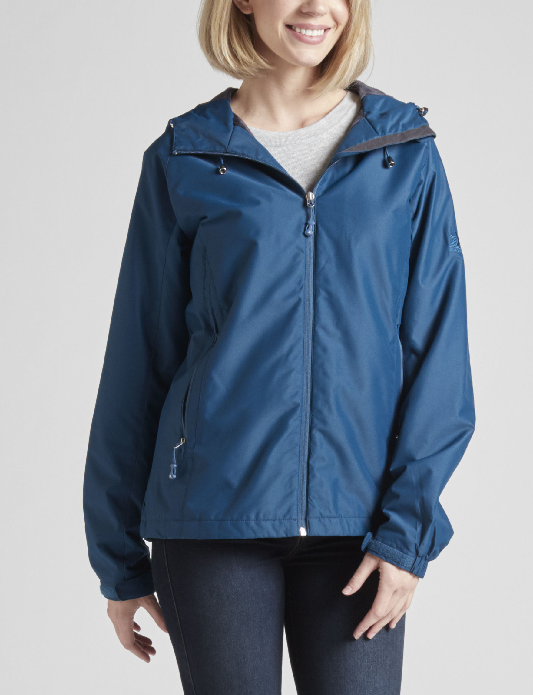 Zero Xposur Navy Rain & Snow Jackets
