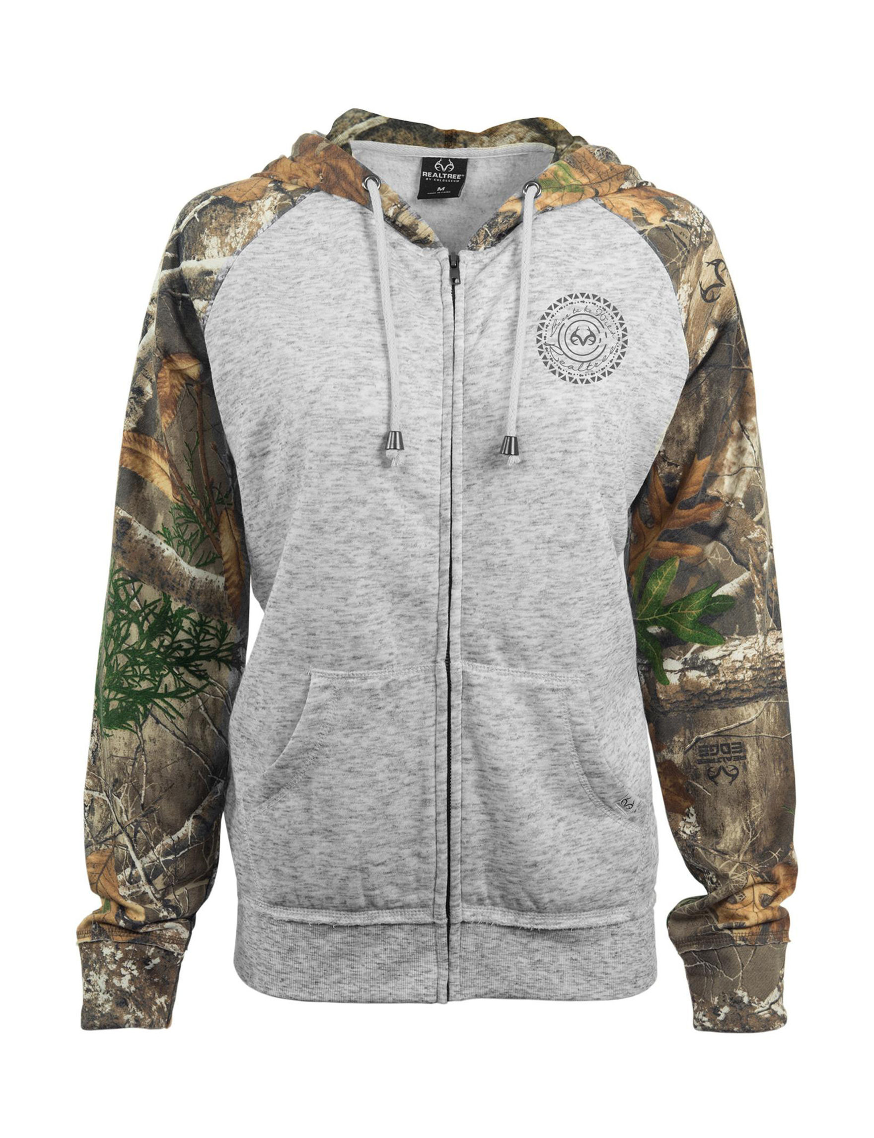 Realtree Heather Grey