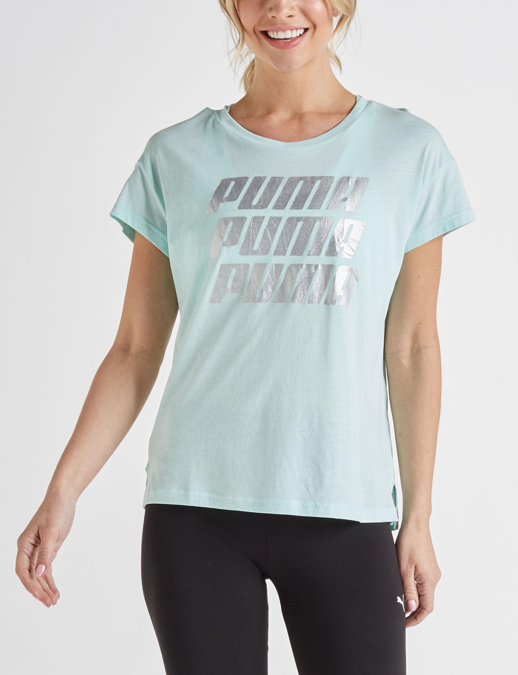 Puma Mint Tees & Tanks