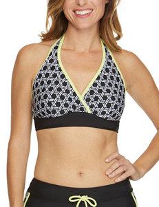 Splashletics Black Swimsuit Tops Triangle