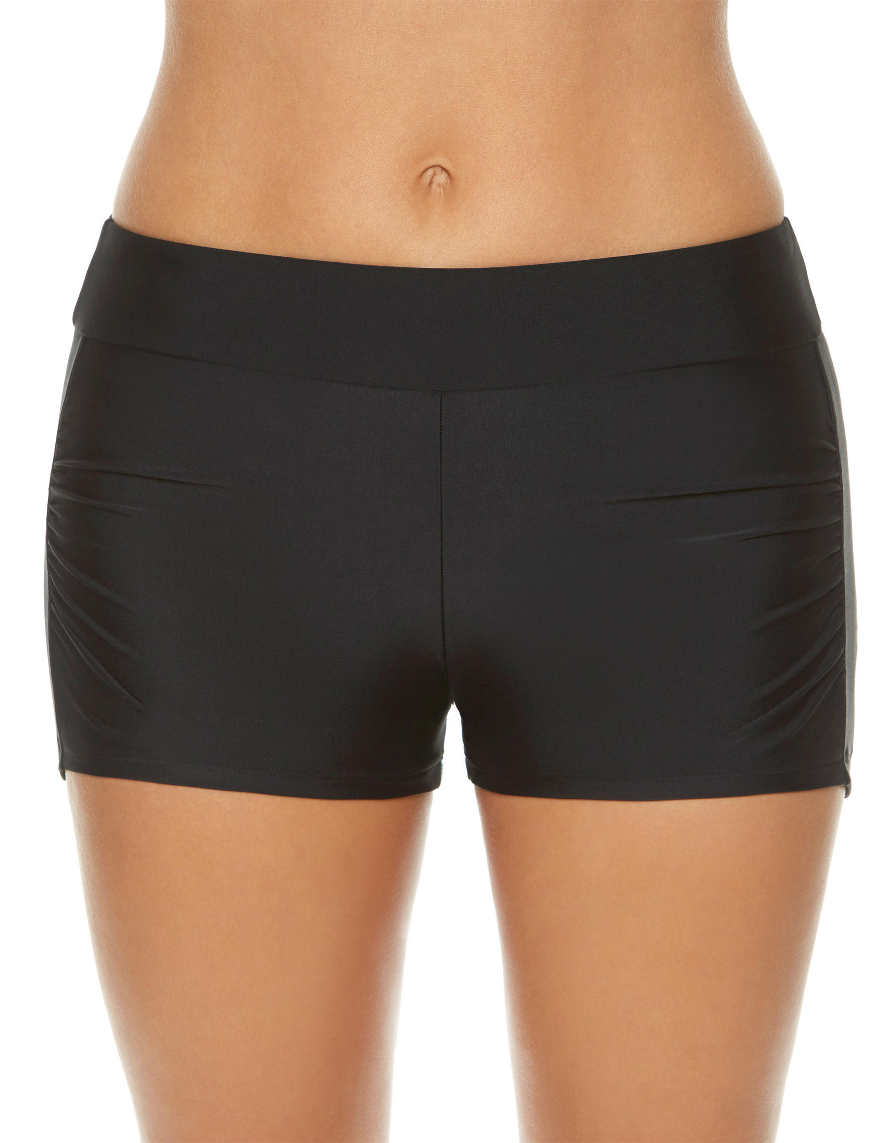 Splashletics Black Swimsuit Bottoms Boyshort