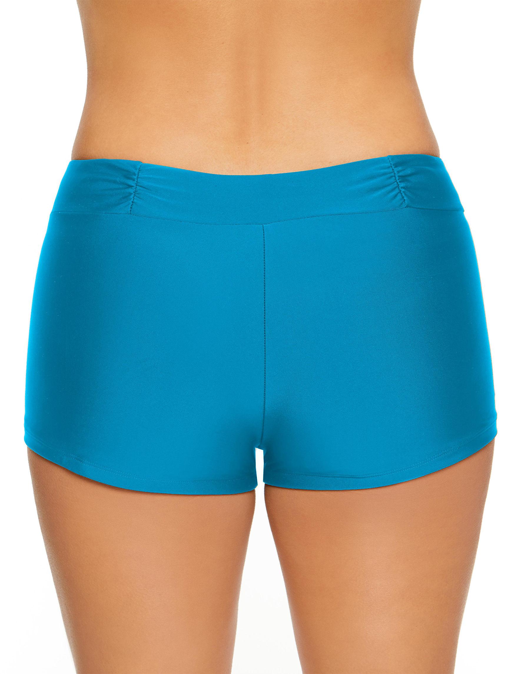 93aaad3bd4 Aqua Couture Women's Malibu Boy Shorts Swim Bottoms. WEB ID #:573555.  product. product. product. product
