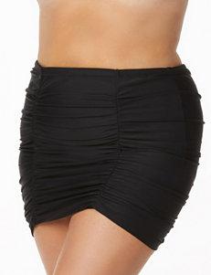 Raisins Curve Black Swimsuit Bottoms Skirtini