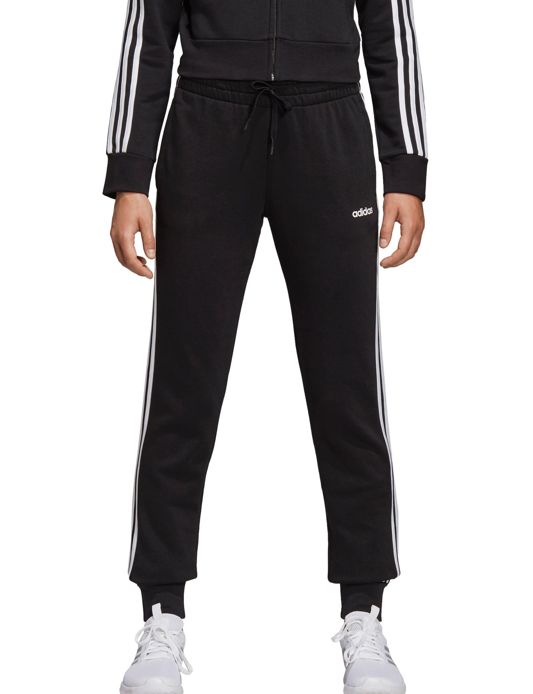 Adidas Black / White Active Jogger