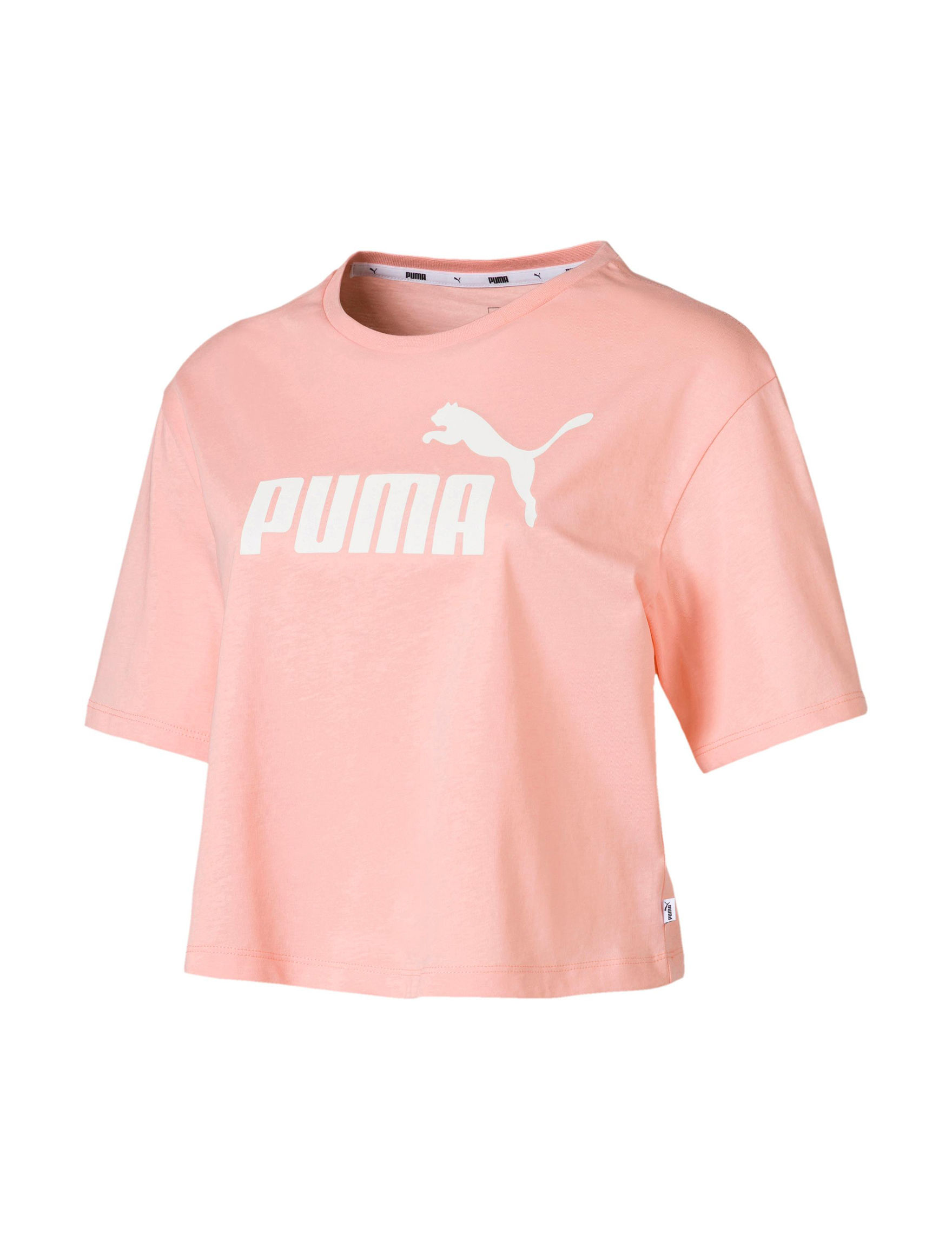 Puma Pink / White Tees & Tanks