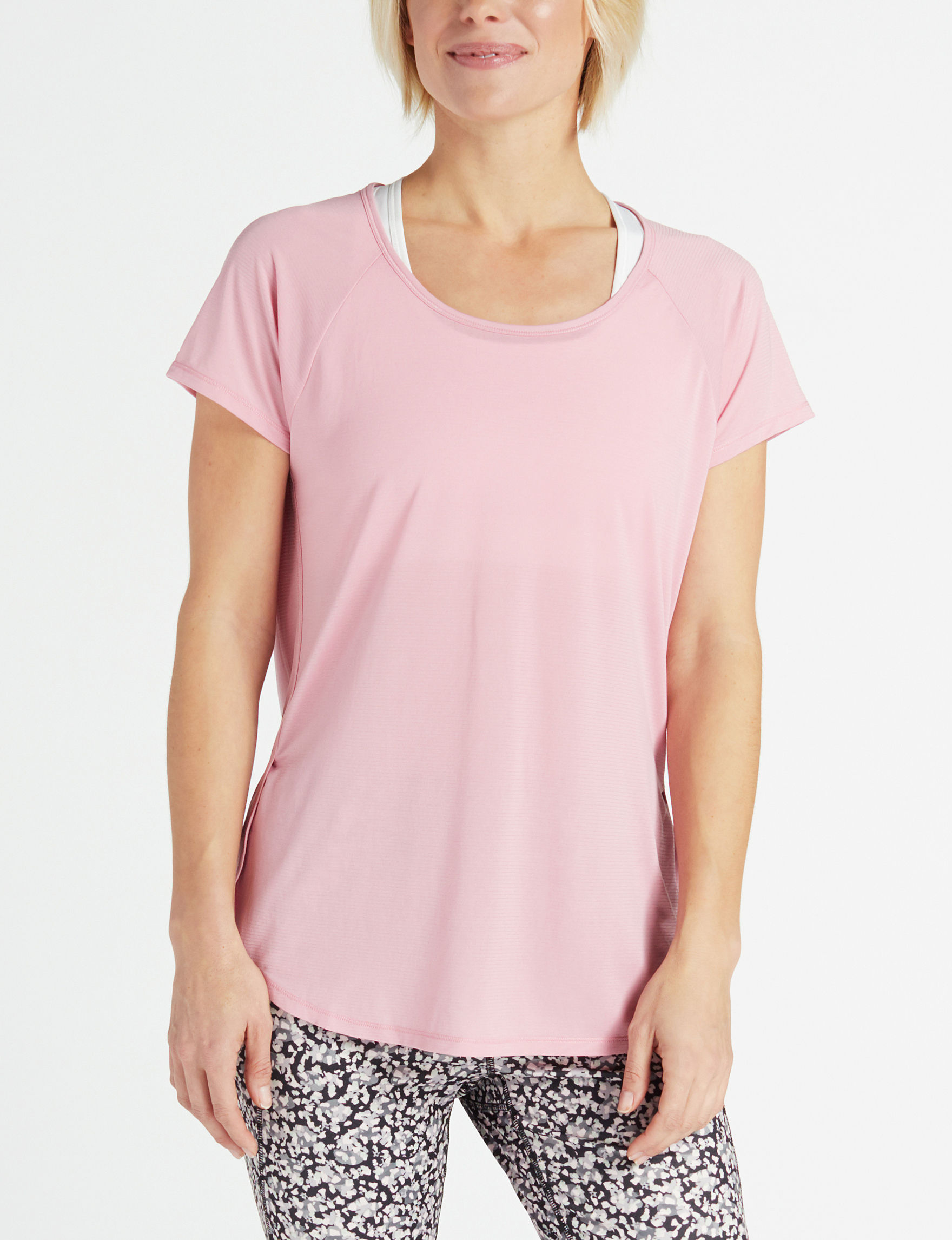 RBX Pink Active Tees & Tanks